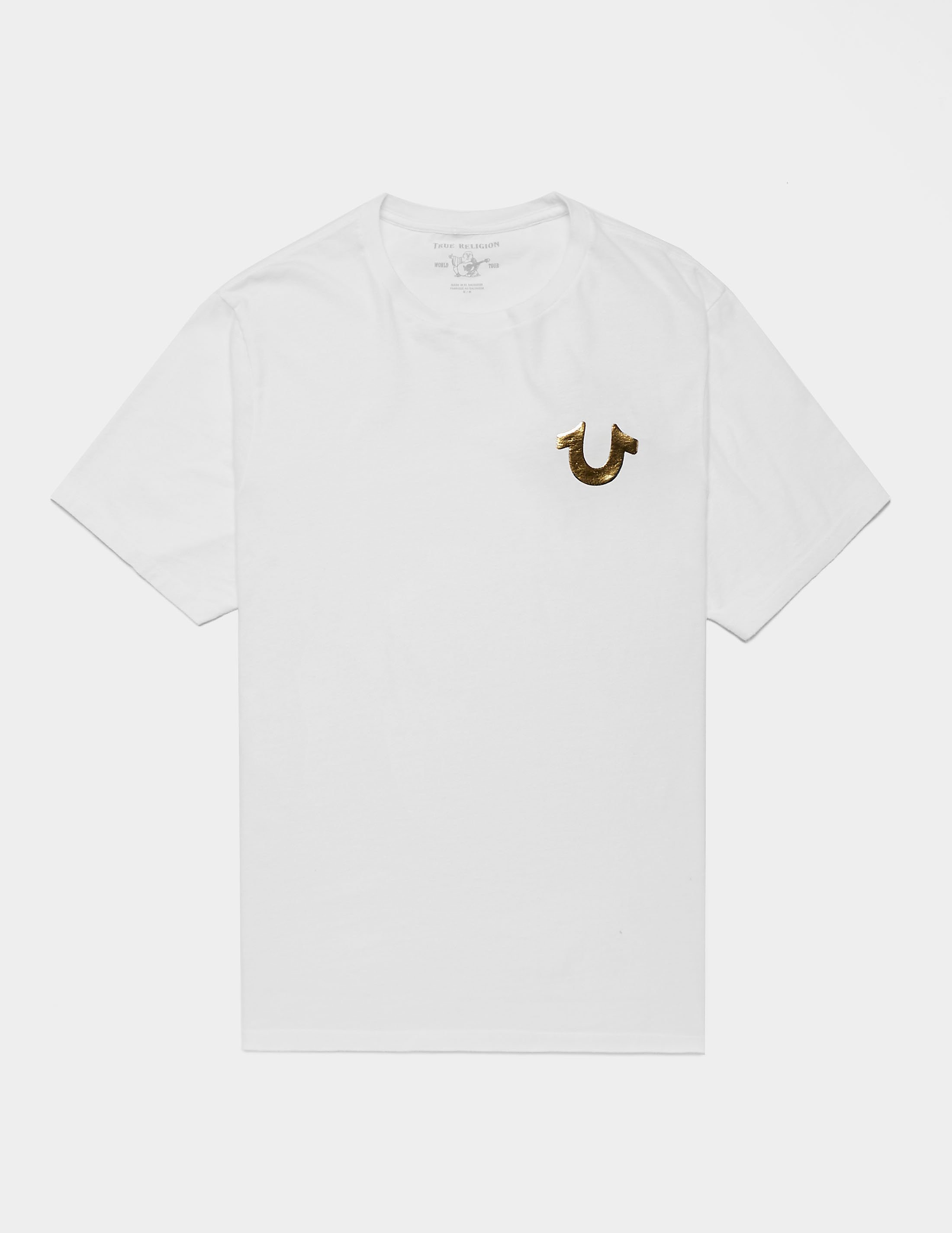 True Religion Gold Puff T-Shirt