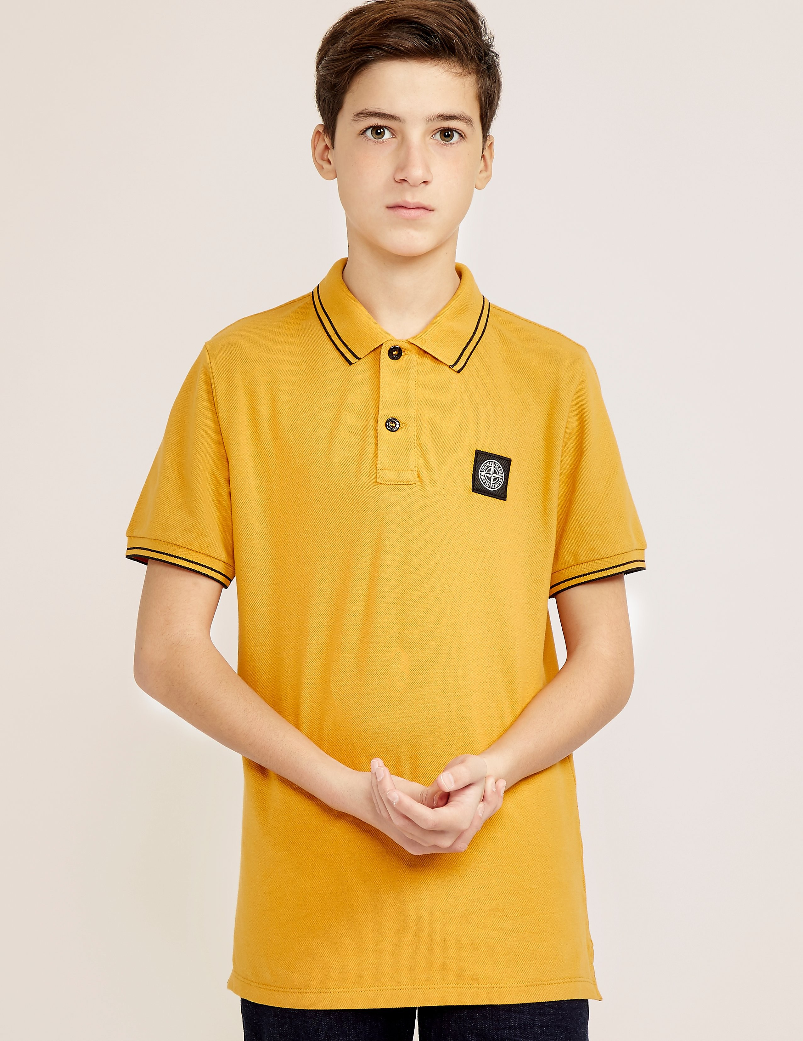 Stone Island Kid's Short Sleeve Polo Shirt