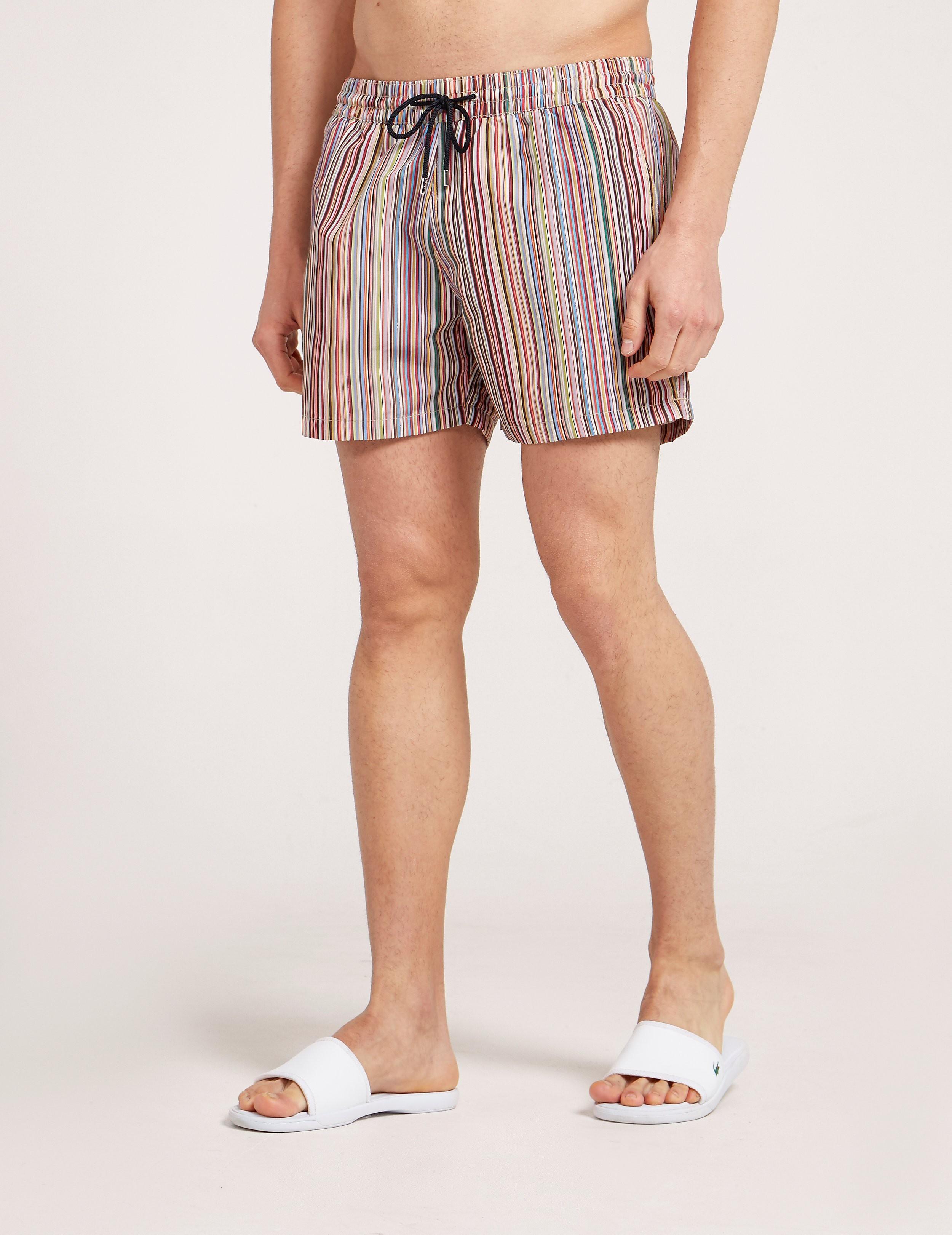 Paul Smith Stripe Swim Shorts