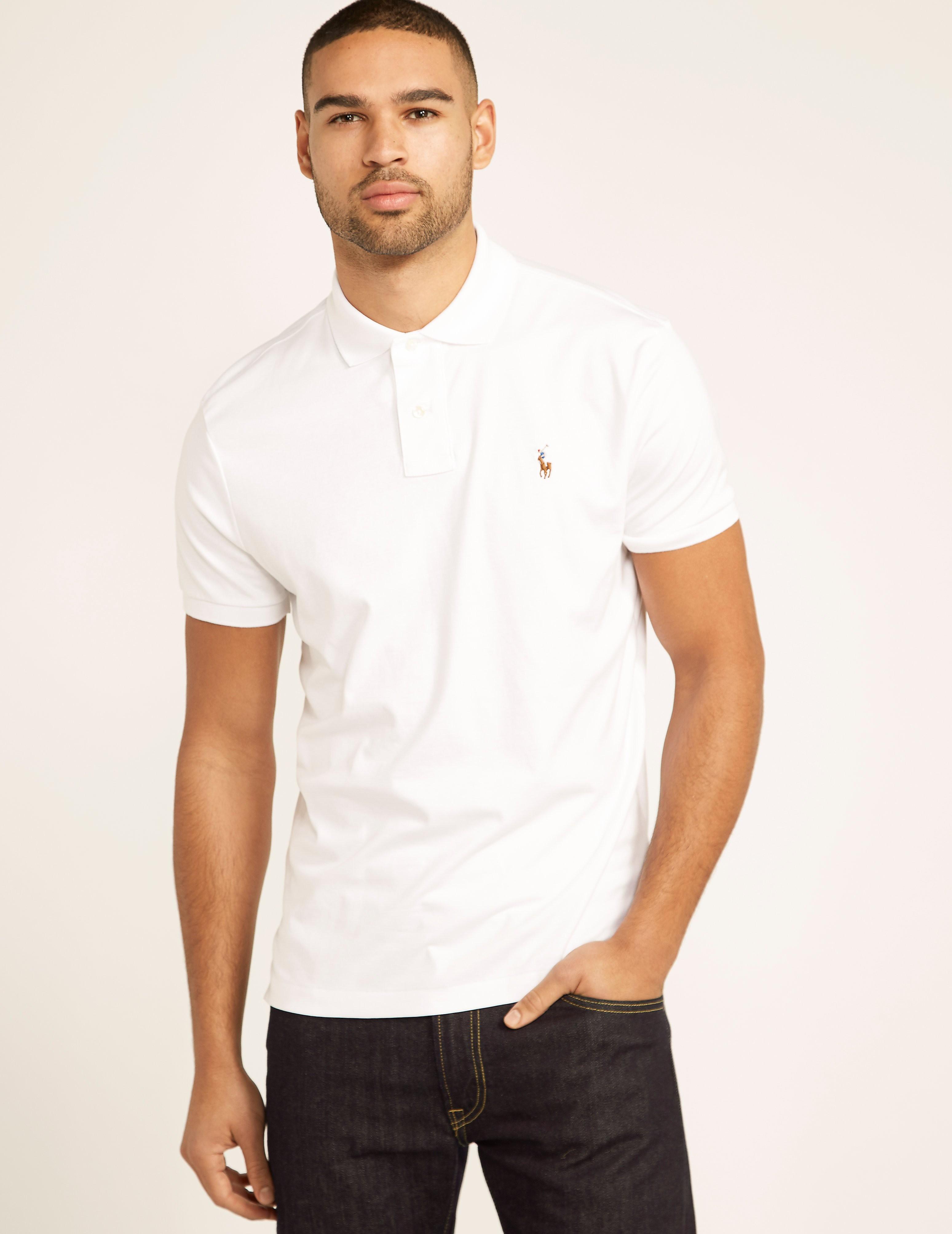 Polo Ralph Lauren CF Pima Cotton Polo Shirt