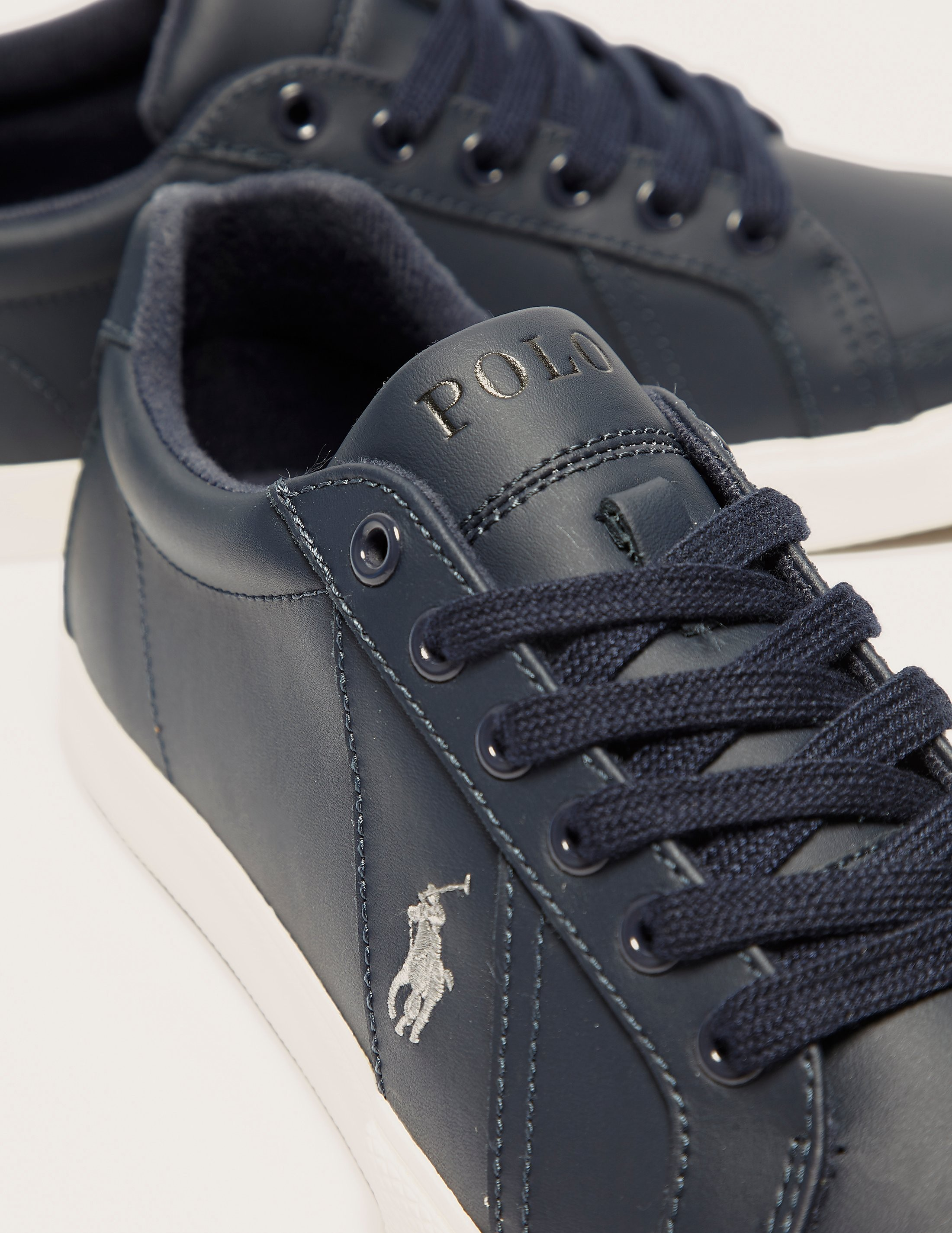 Polo Ralph Lauren Hugh Leather Trainer