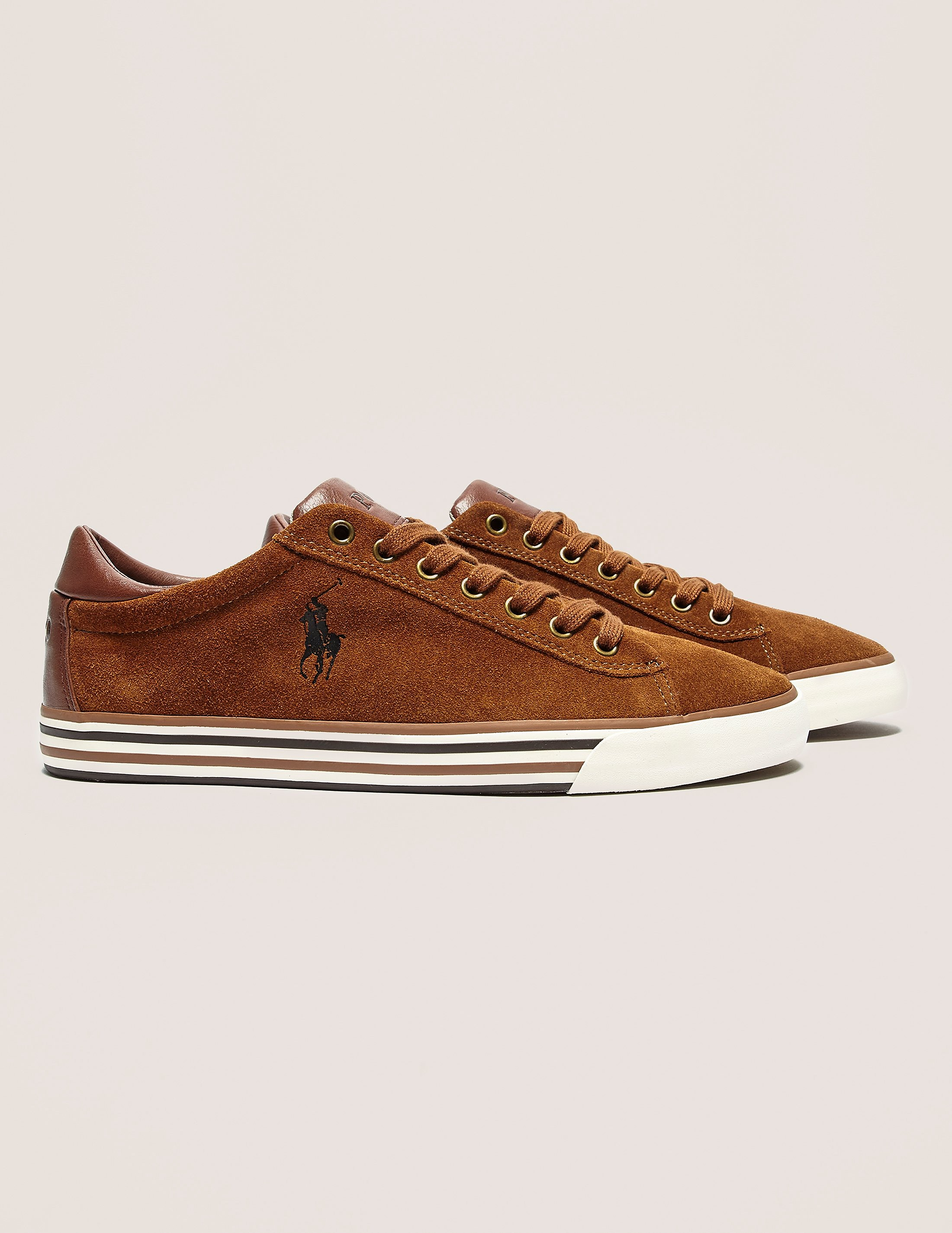 Polo Ralph Lauren Harvey Suede Trainers