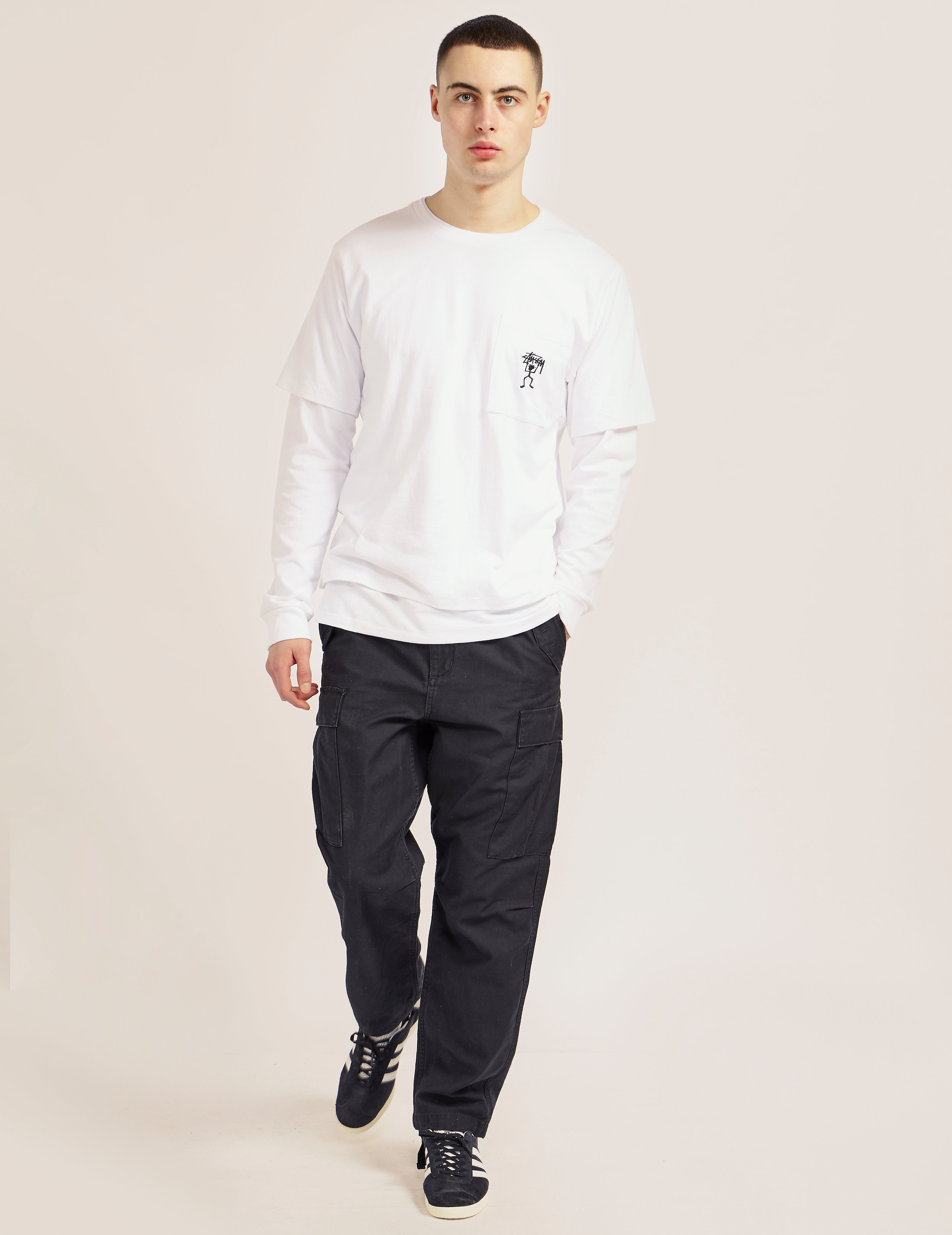Stussy O'Dyed Double Long Sleeve T-Shirt