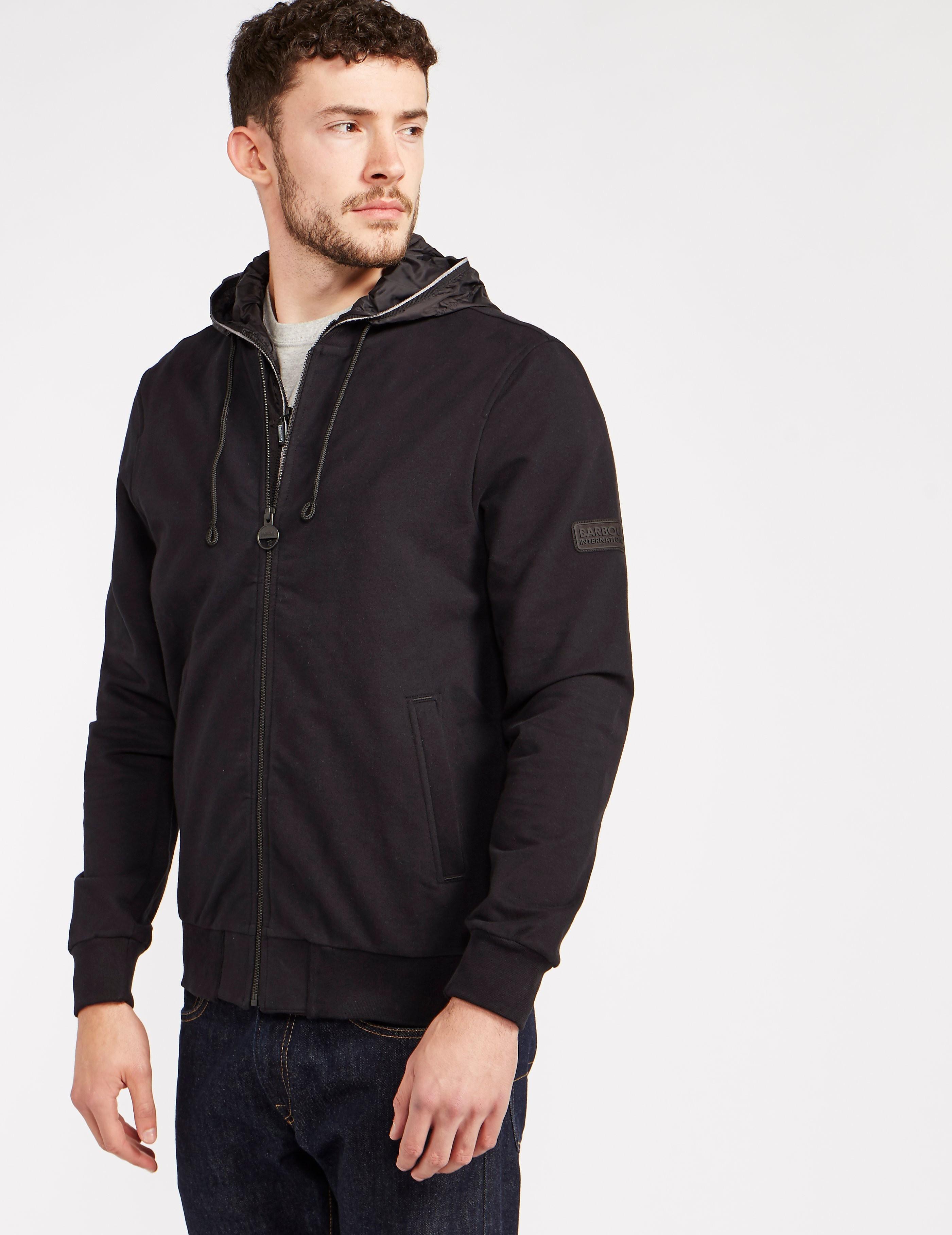 Barbour Full-Zip Hooded Jacket
