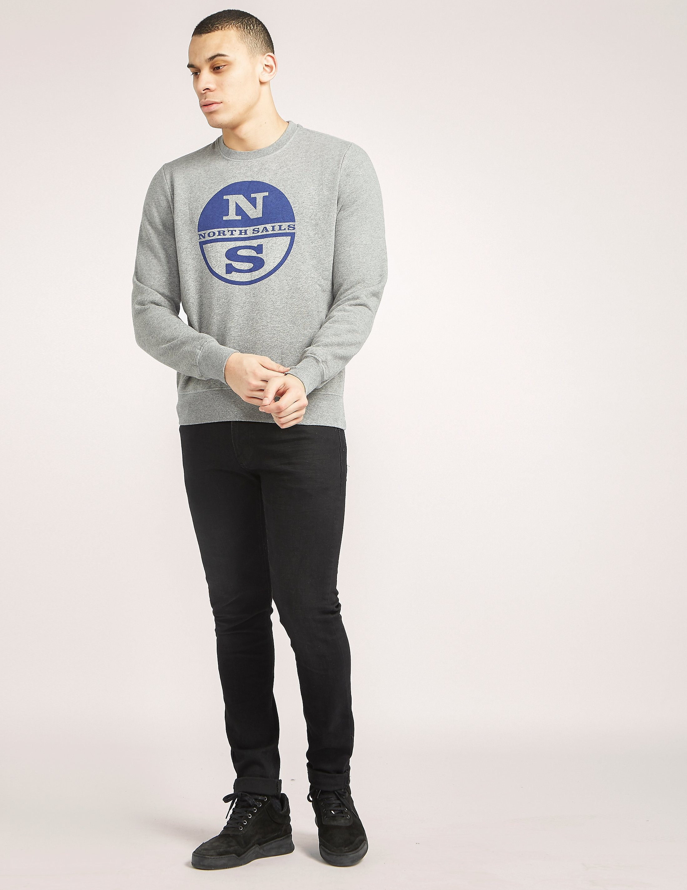 NORTH SAILS Ian Logo Sweatshirt