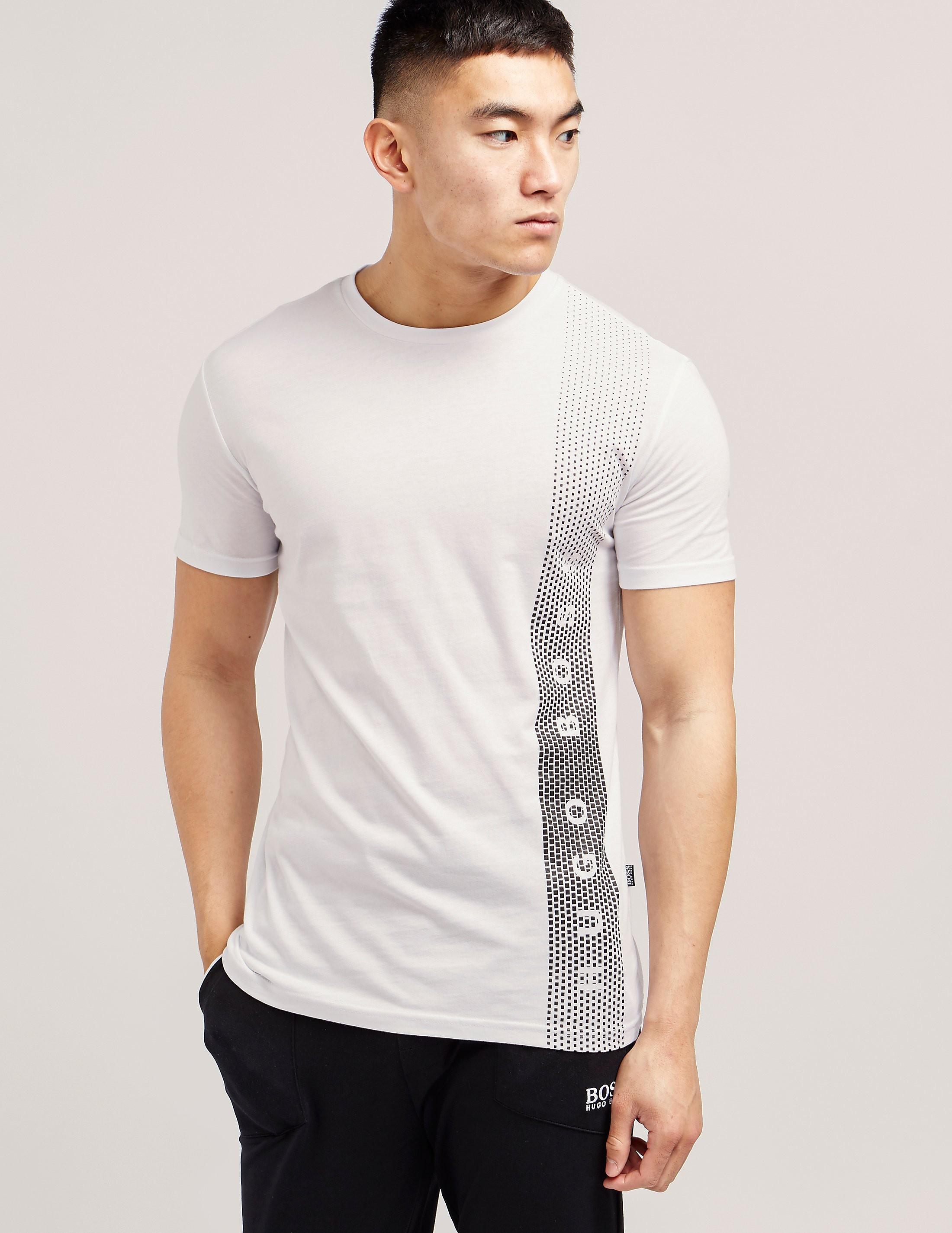 BOSS UV Stripe Short Sleeve T-Shirt