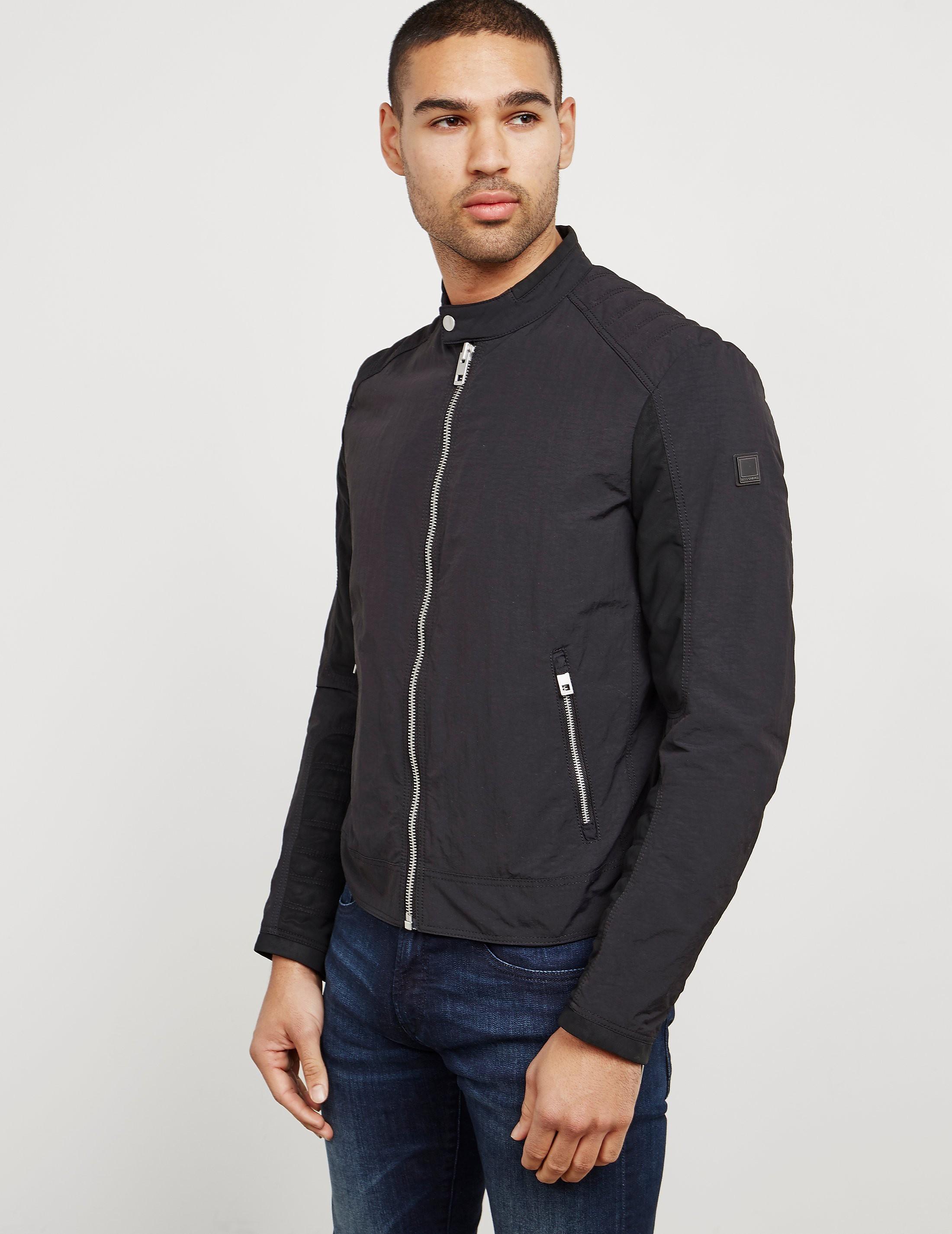 BOSS Orange Ondrix Lightweight Biker Jacket
