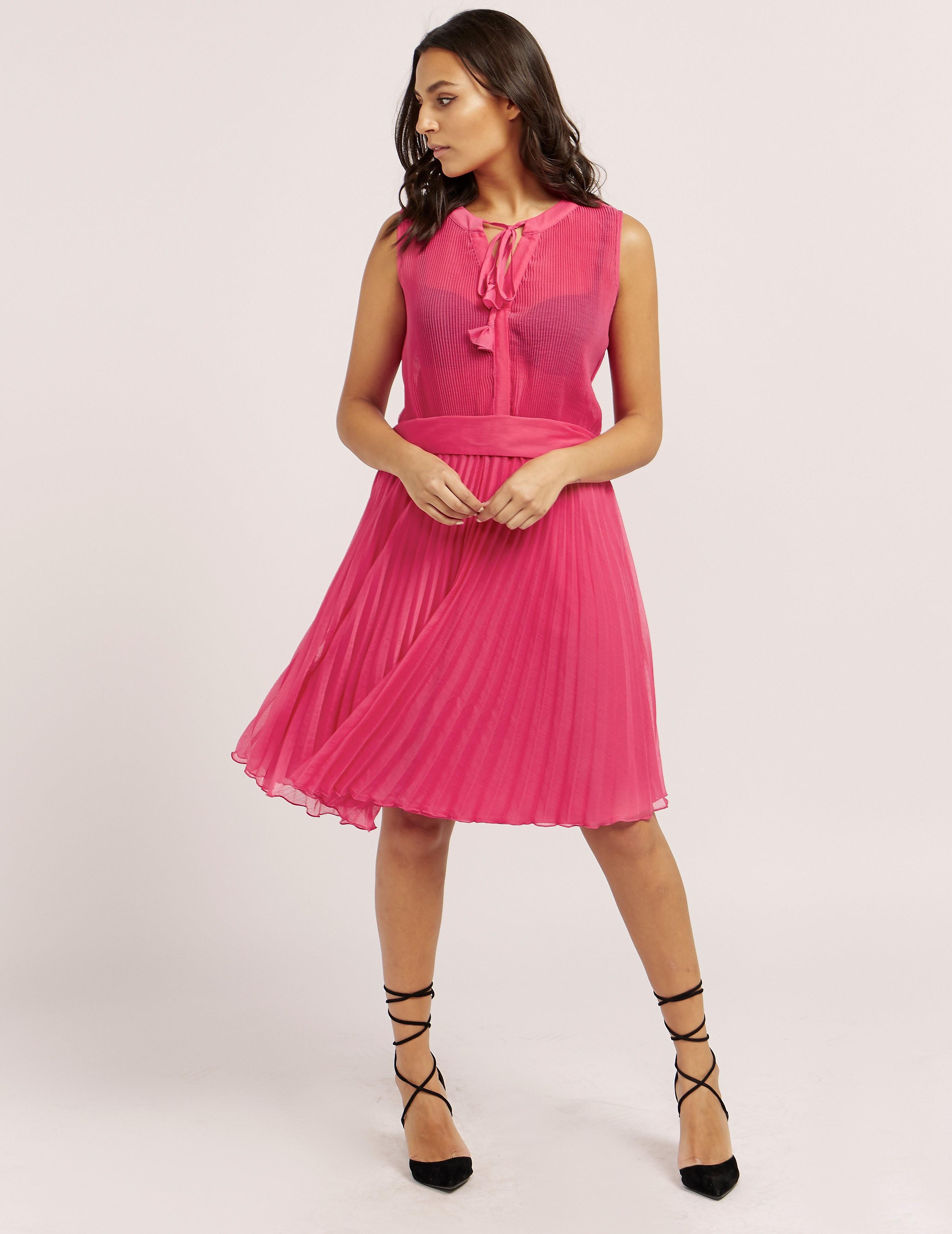 Ilse Jacobsen Pleated Midi Dress