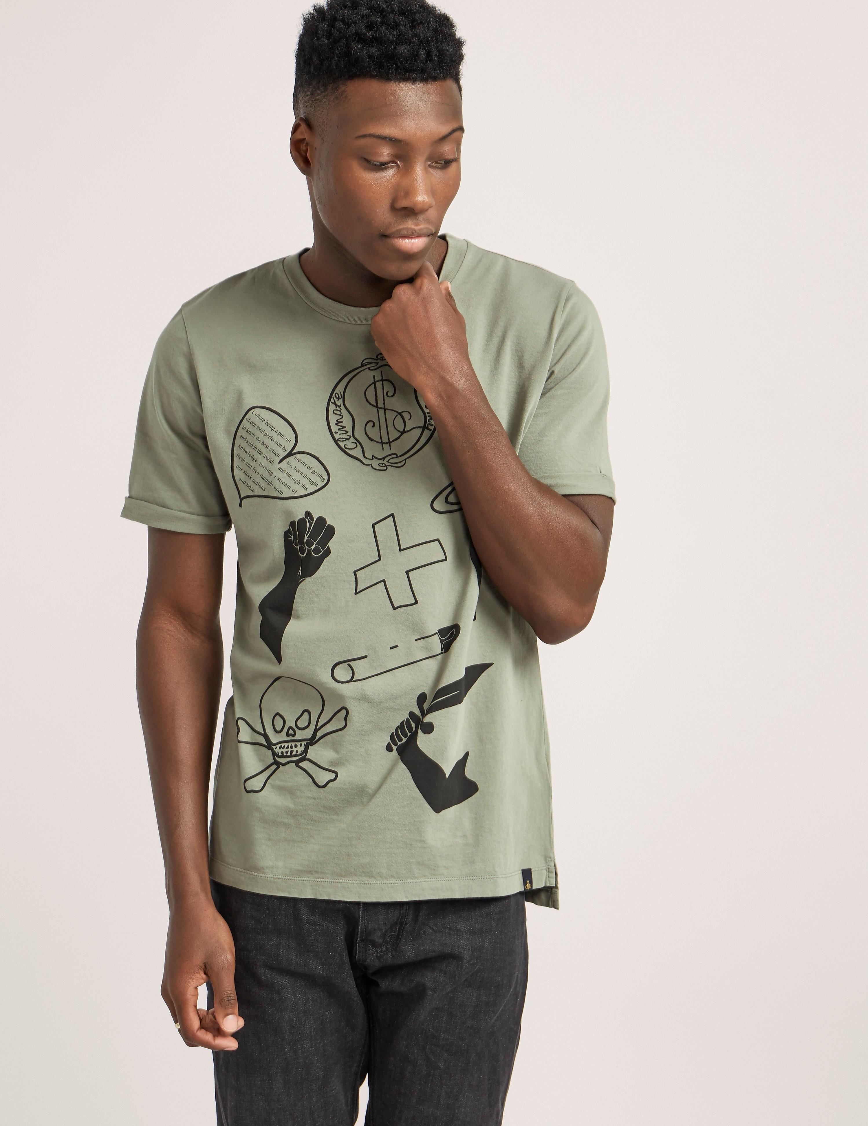 Vivienne Westwood Anglomania Symbols T-Shirt