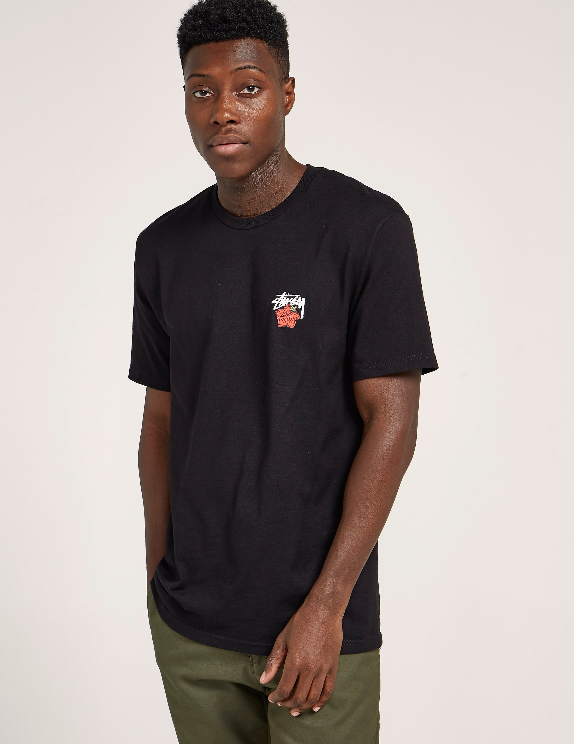 Stussy Cali Rose Short Sleeve T-Shirt