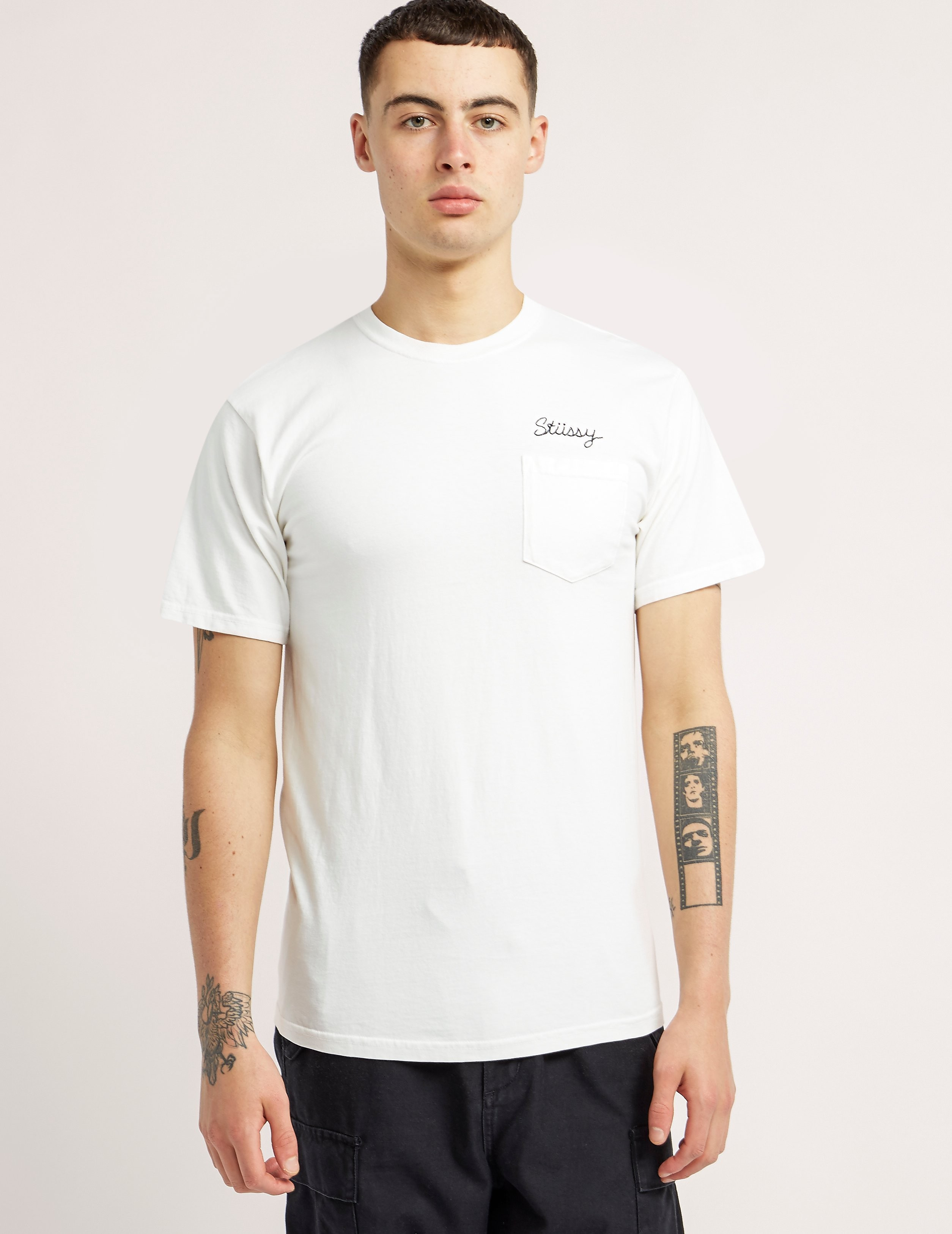 Stussy Stitch Dye Pocket T-Shirt
