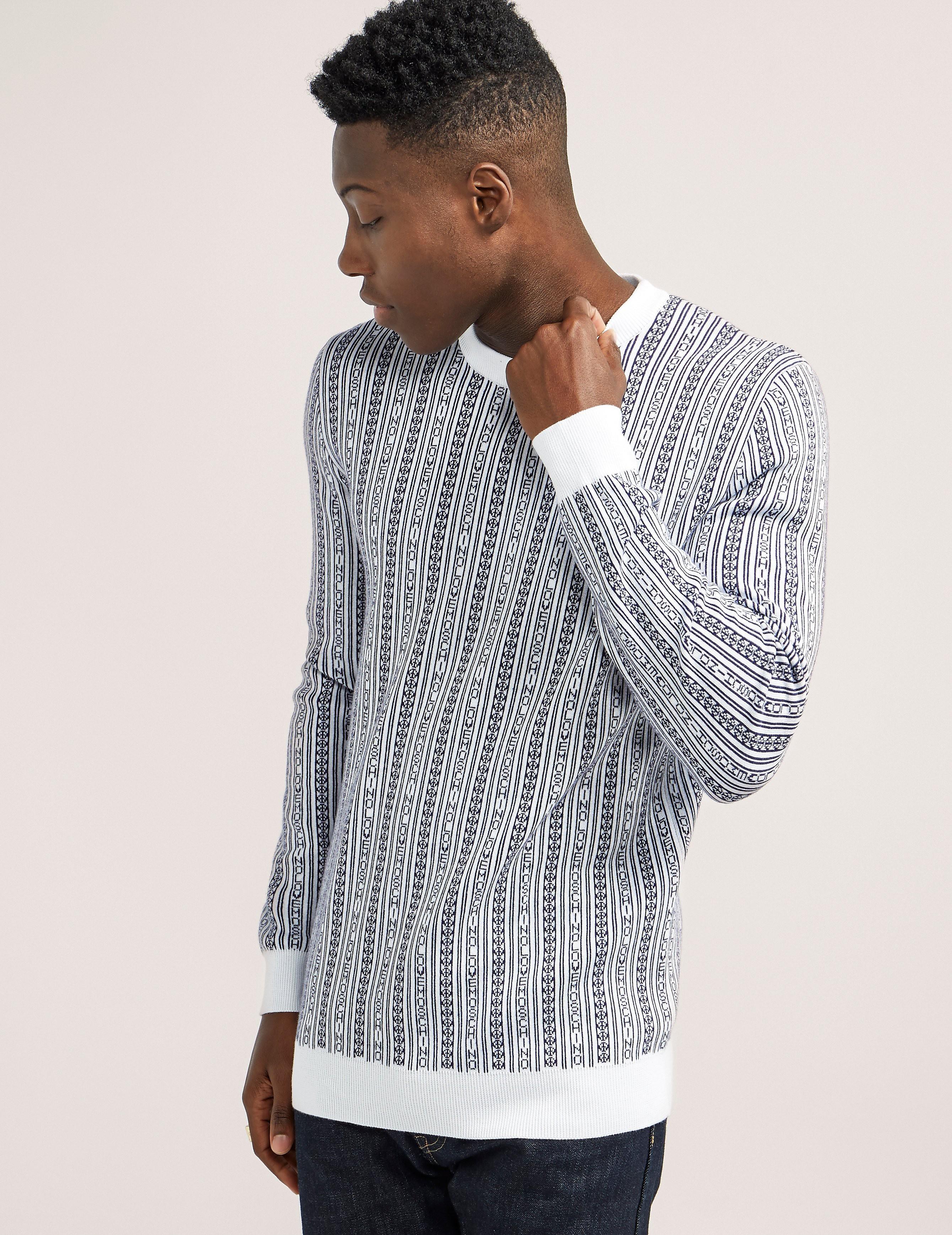 Love Moschino Pattern Crew Knit