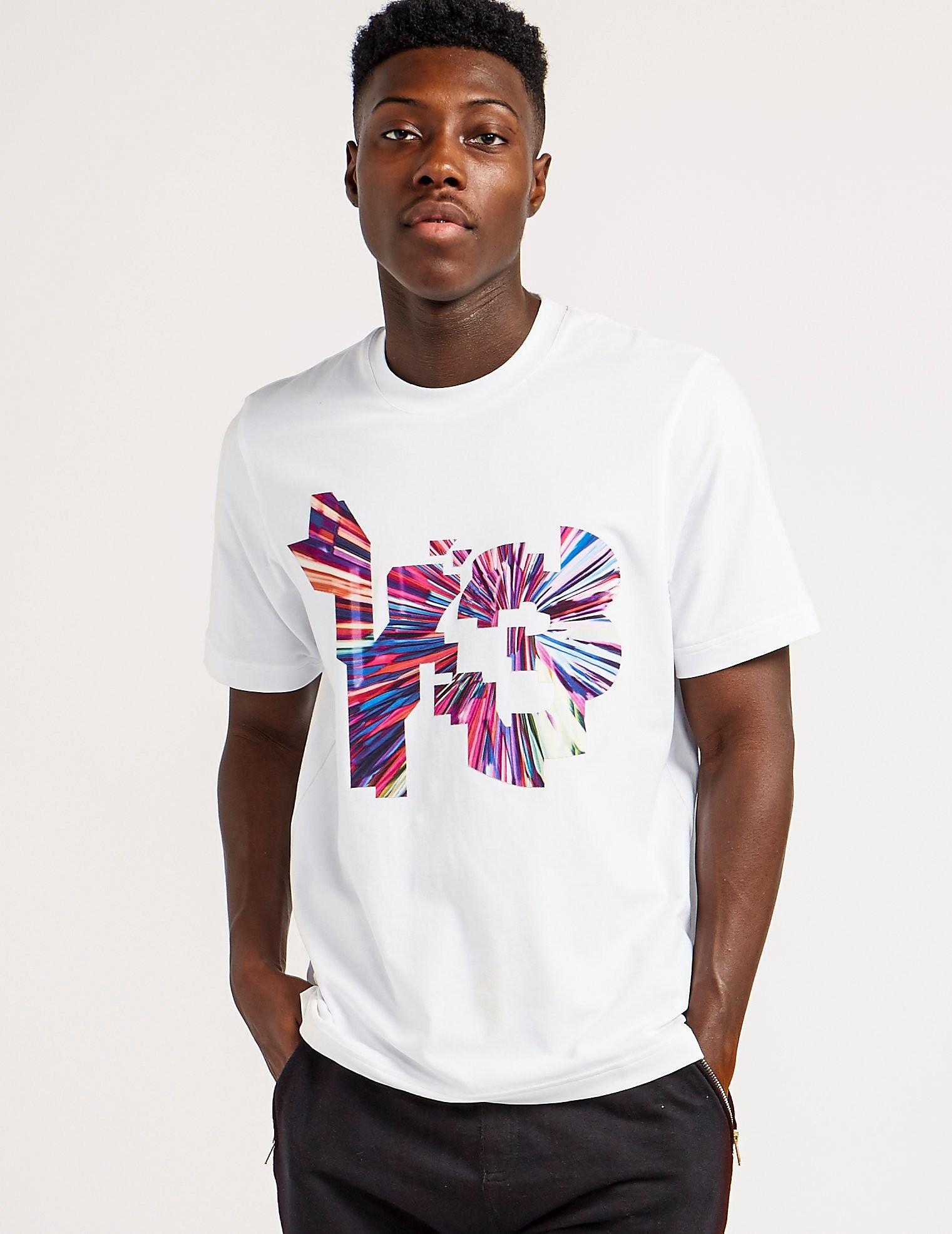 Y-3 Colour Logo Short Sleeve T-Shirt