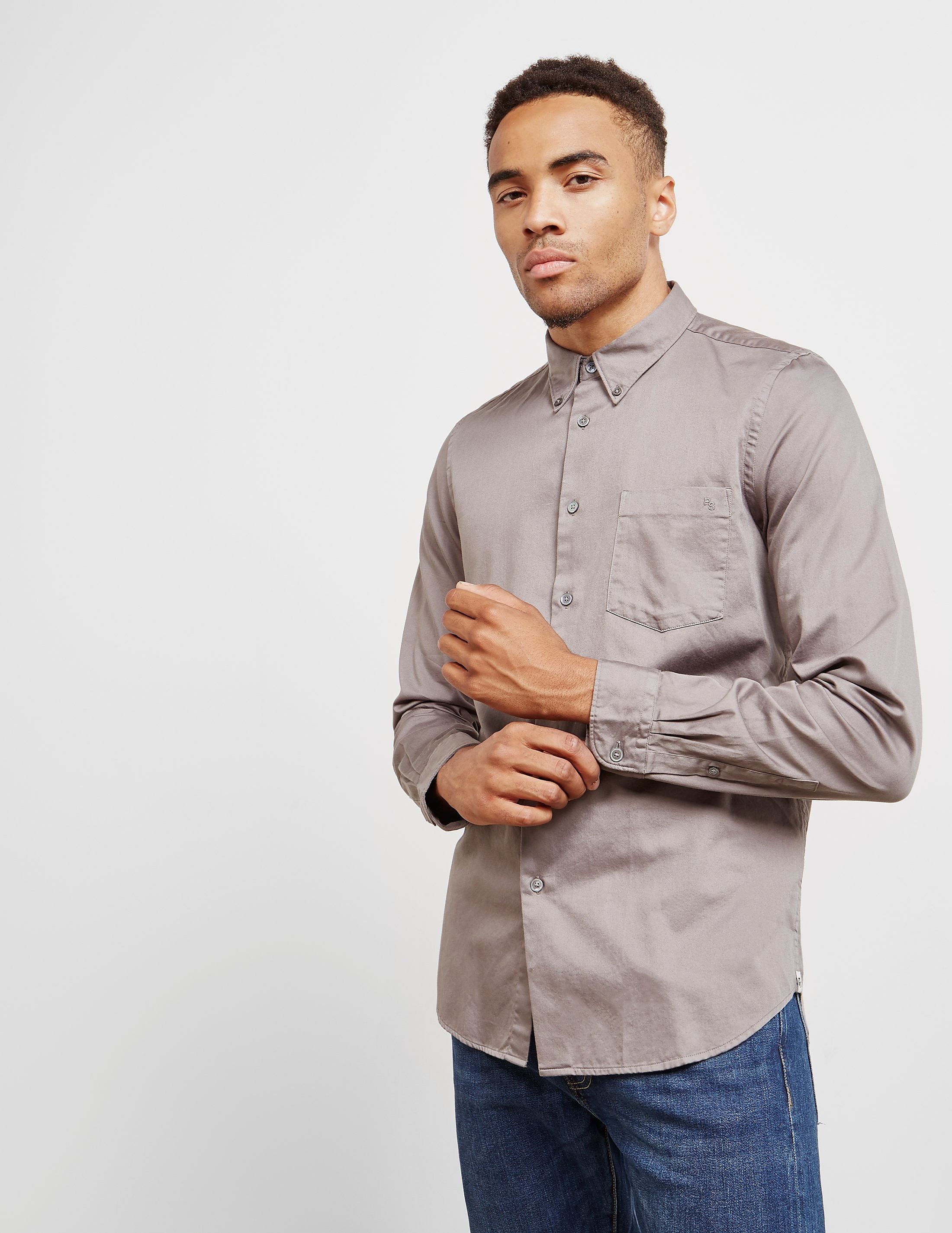 Paul Smith Sateen Long Sleeve Shirt