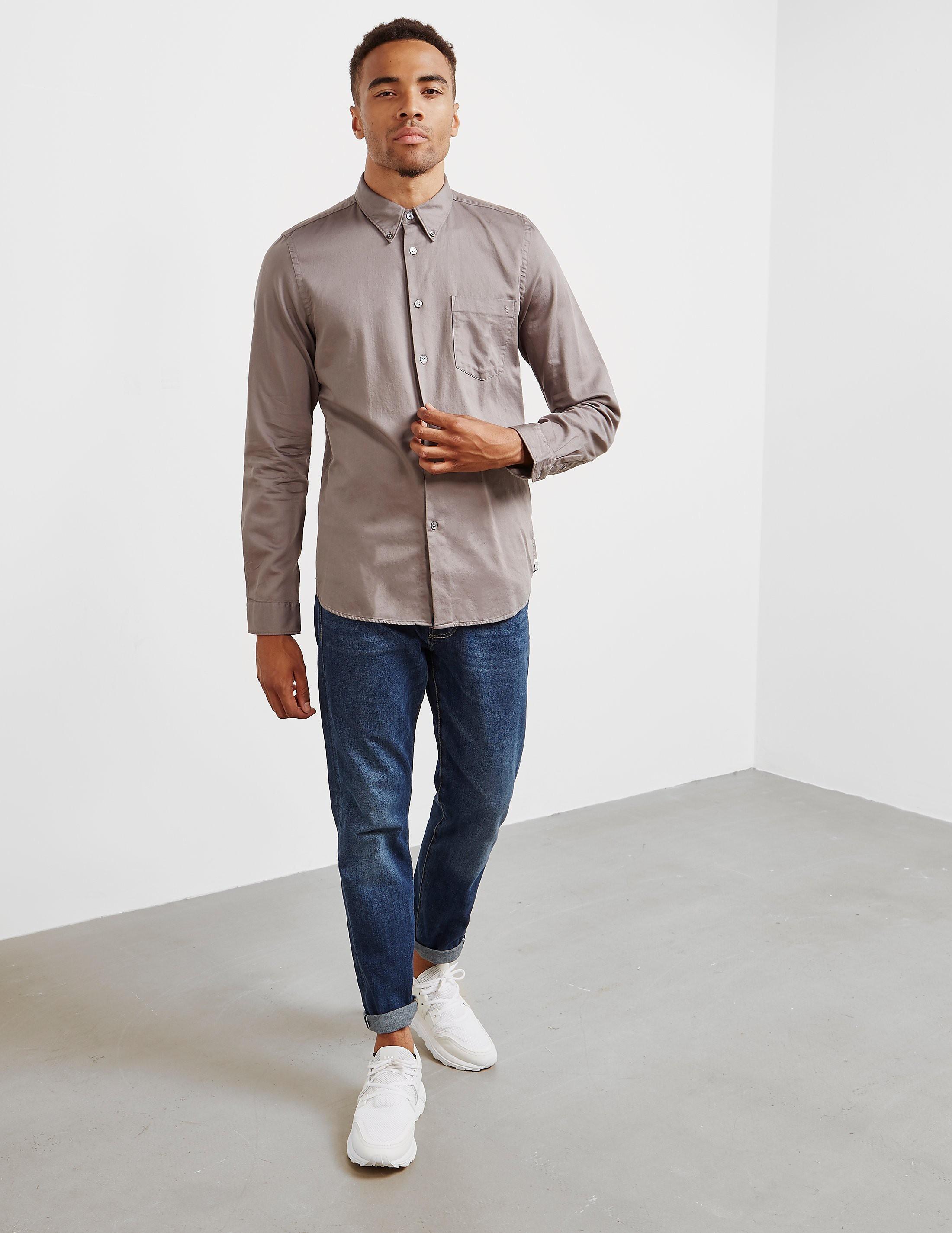 Paul Smith Sateen Long Sleeve Shirt