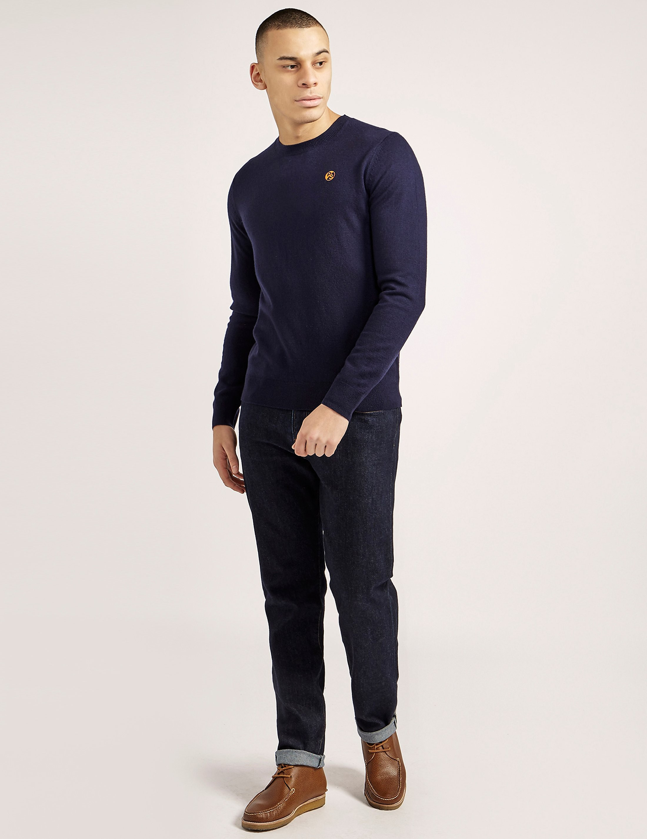 Paul Smith Lambswool Crew Knit