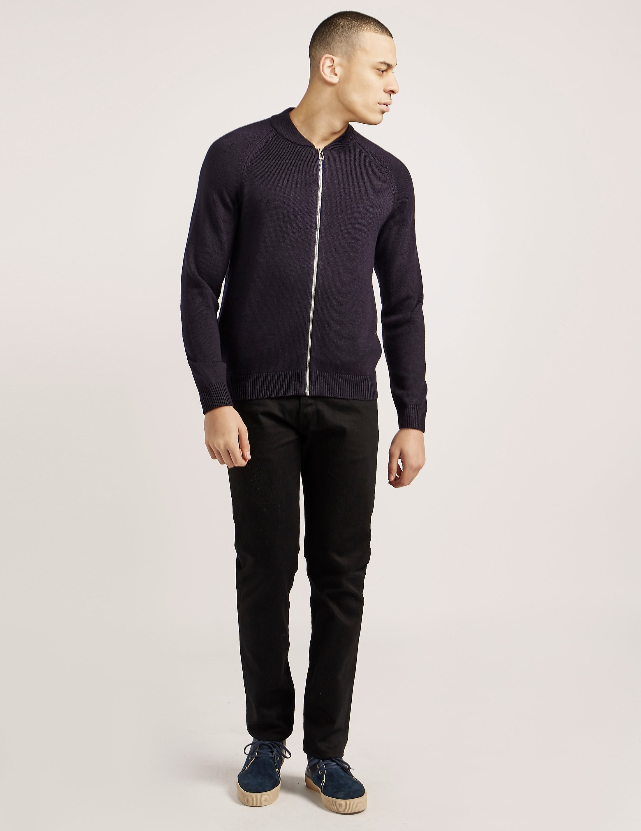 Paul Smith Merino Full Zip Knit