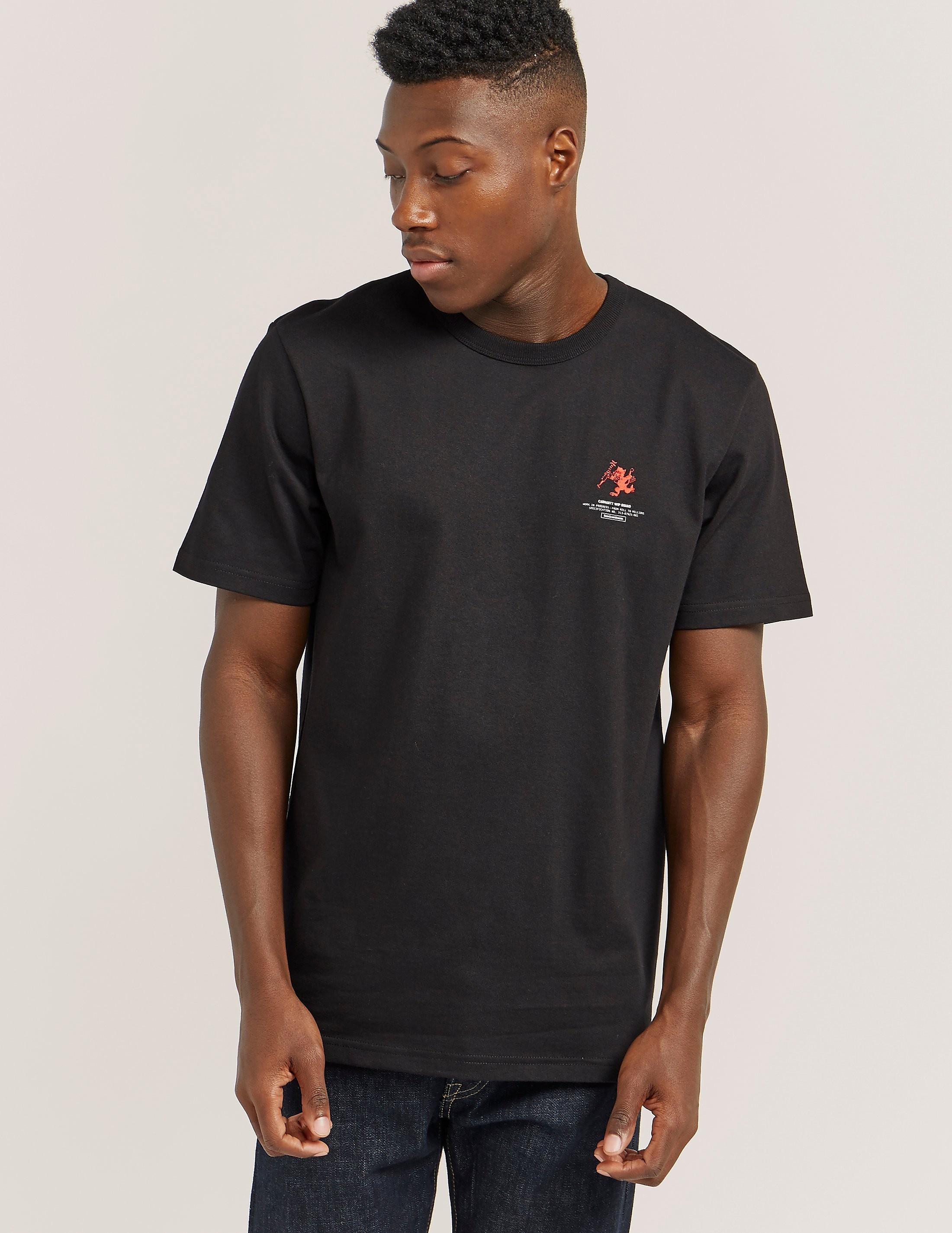 Carhartt WIP Squad Tiger Short Sleeve T-Shirt