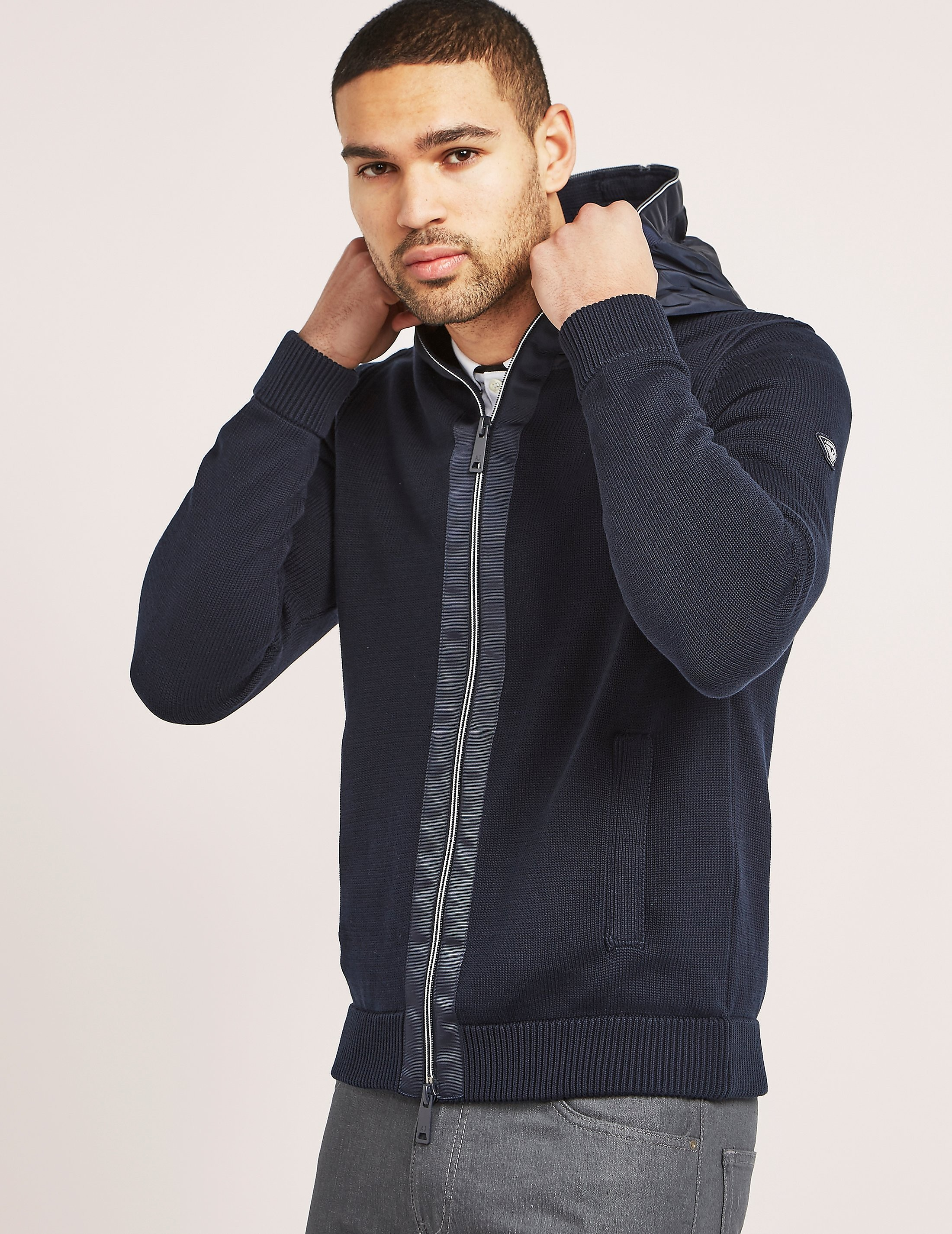 Armani Jeans Full Zip Knit