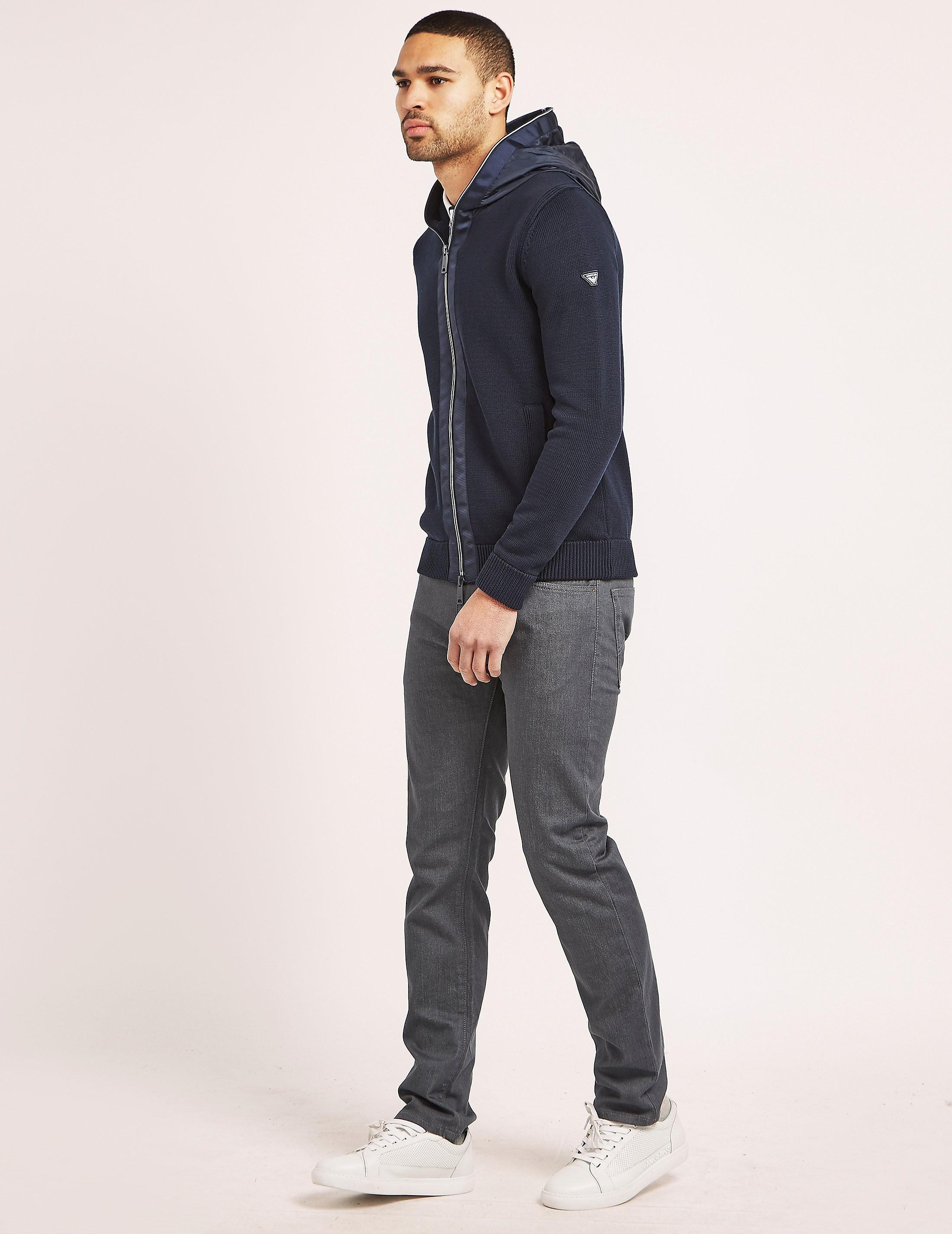 Armani Jeans Full Zip Knit