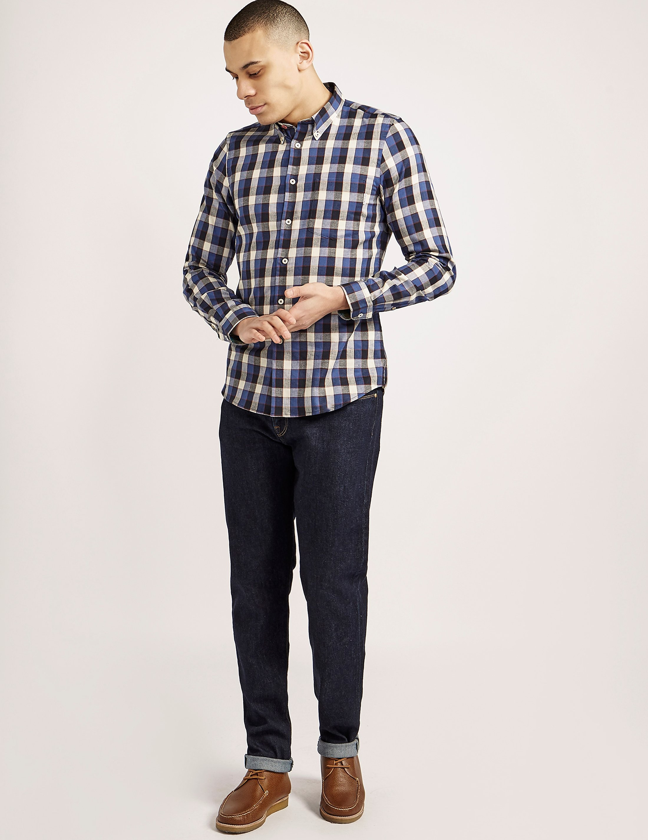 Paul Smith Tapered Stretch Jeans