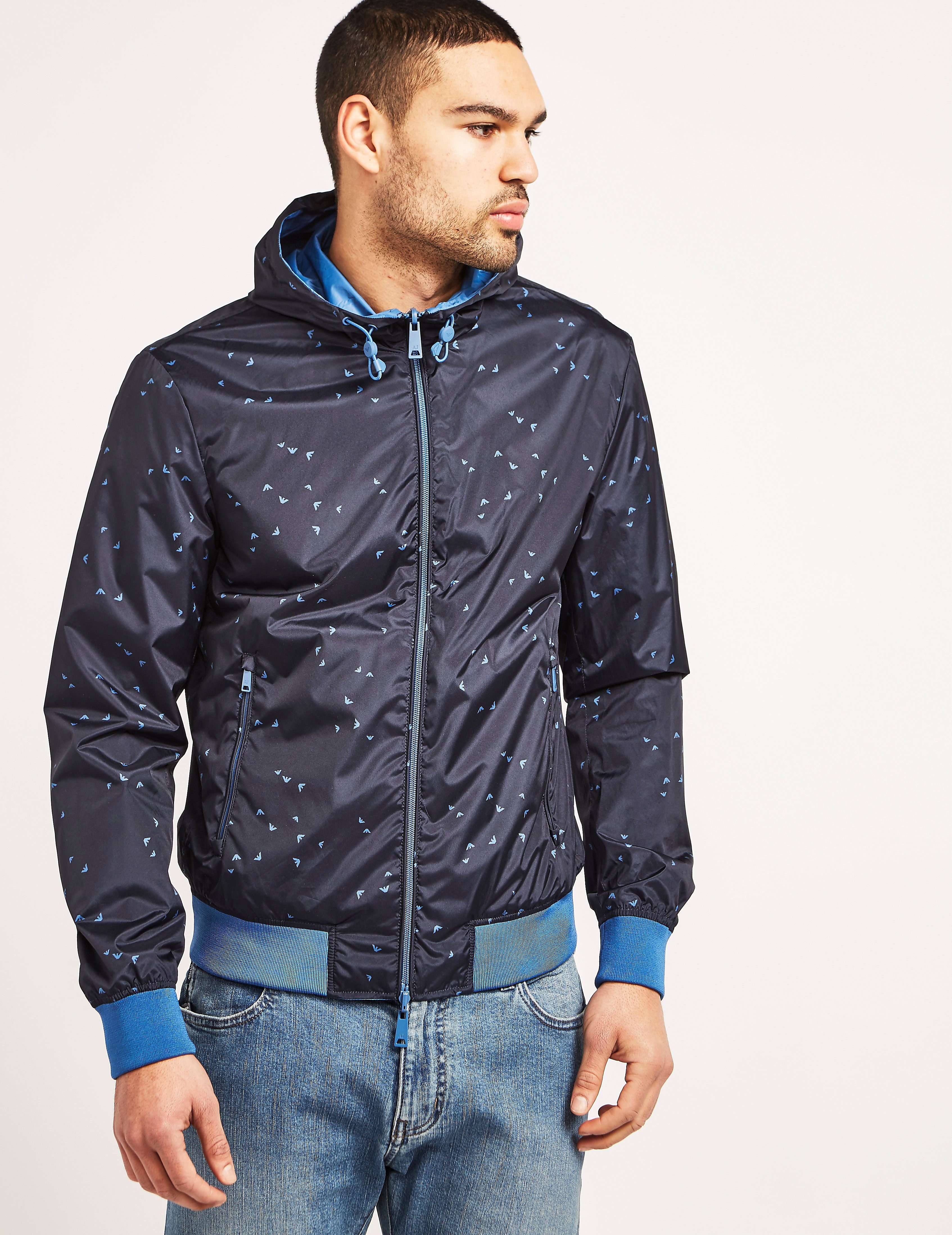 Armani Jeans Reverstible Bomber Jacket