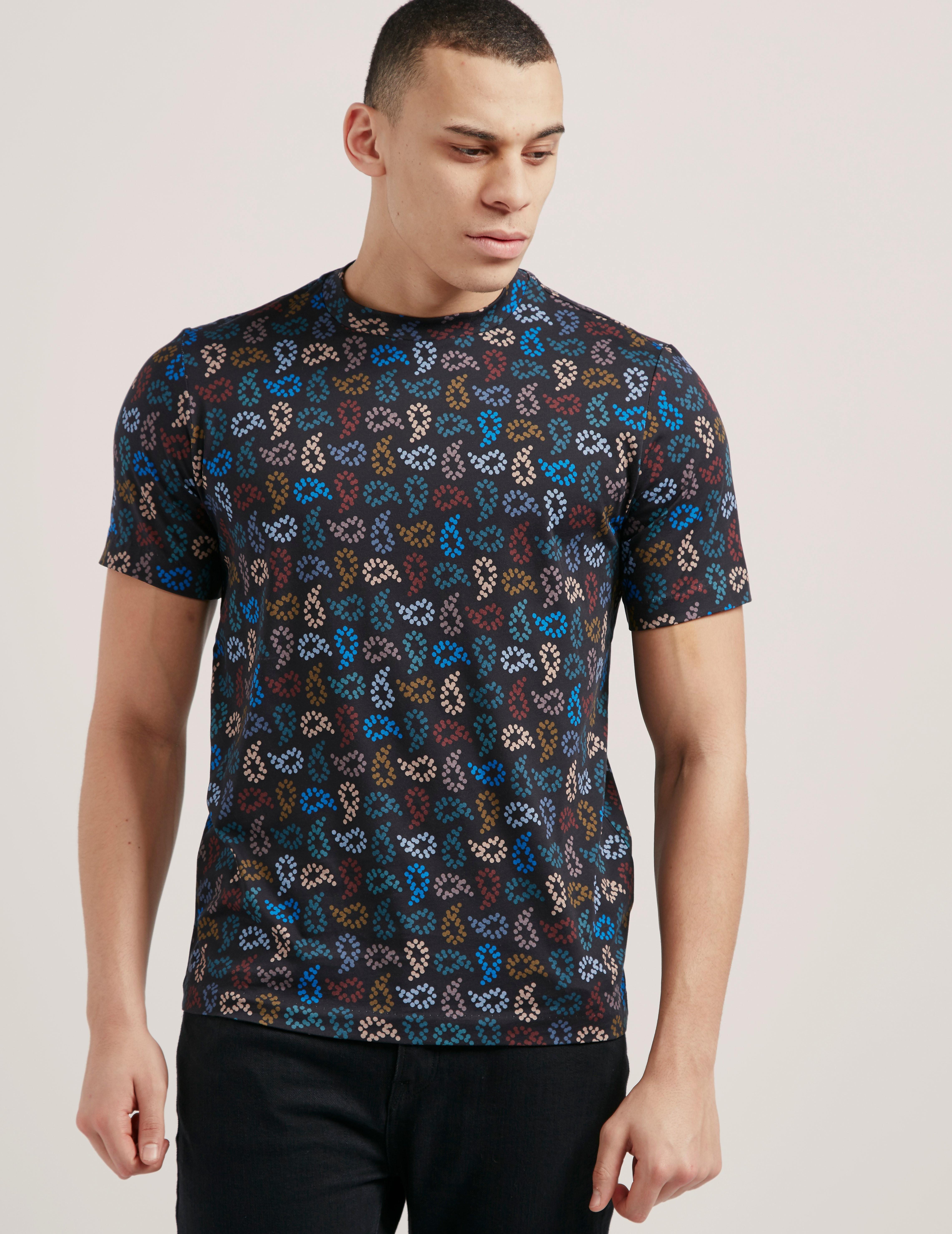 Paul Smith Paisley Short Sleeve T-Shirt