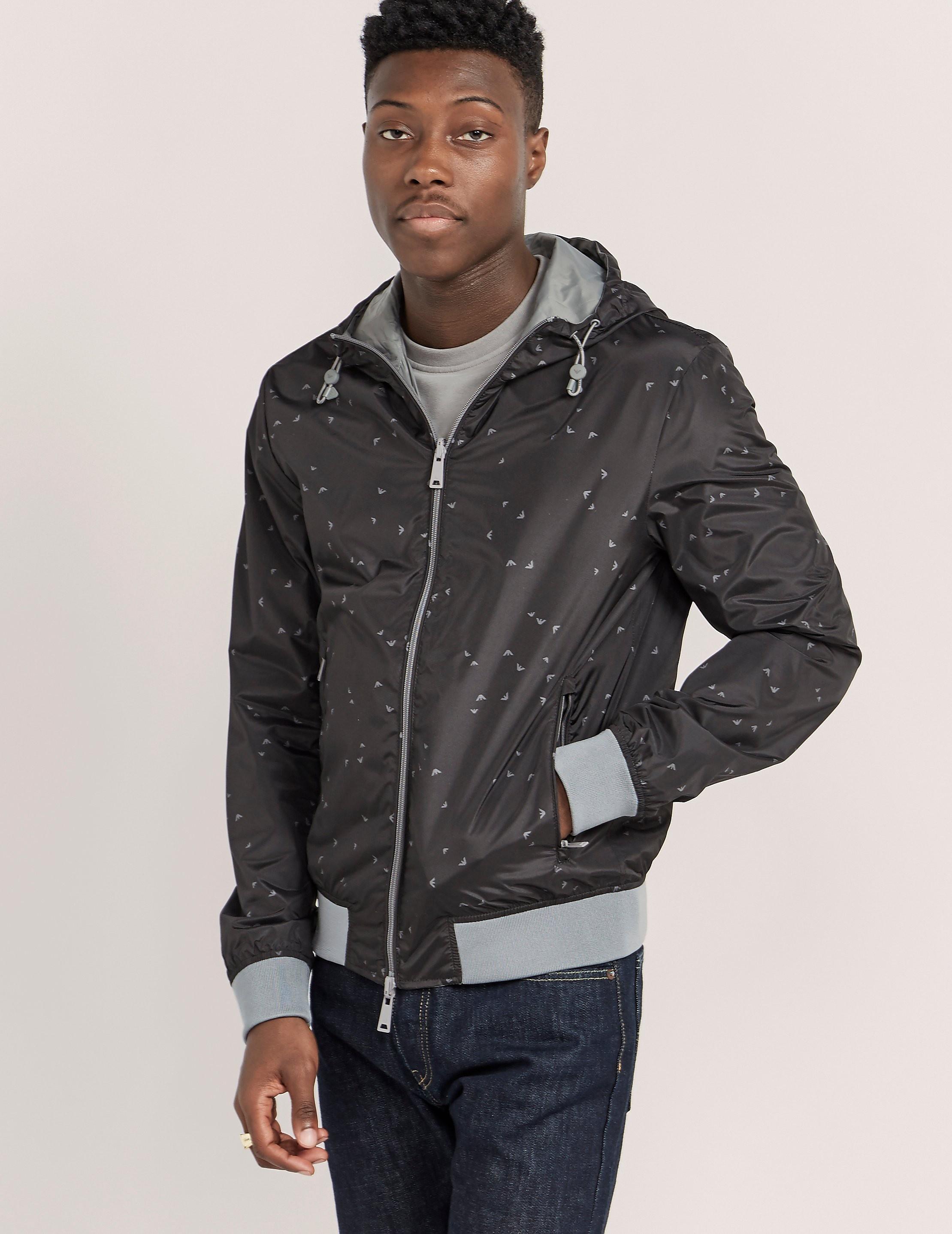 Armani Jeans Reverstible Bomber Jacket