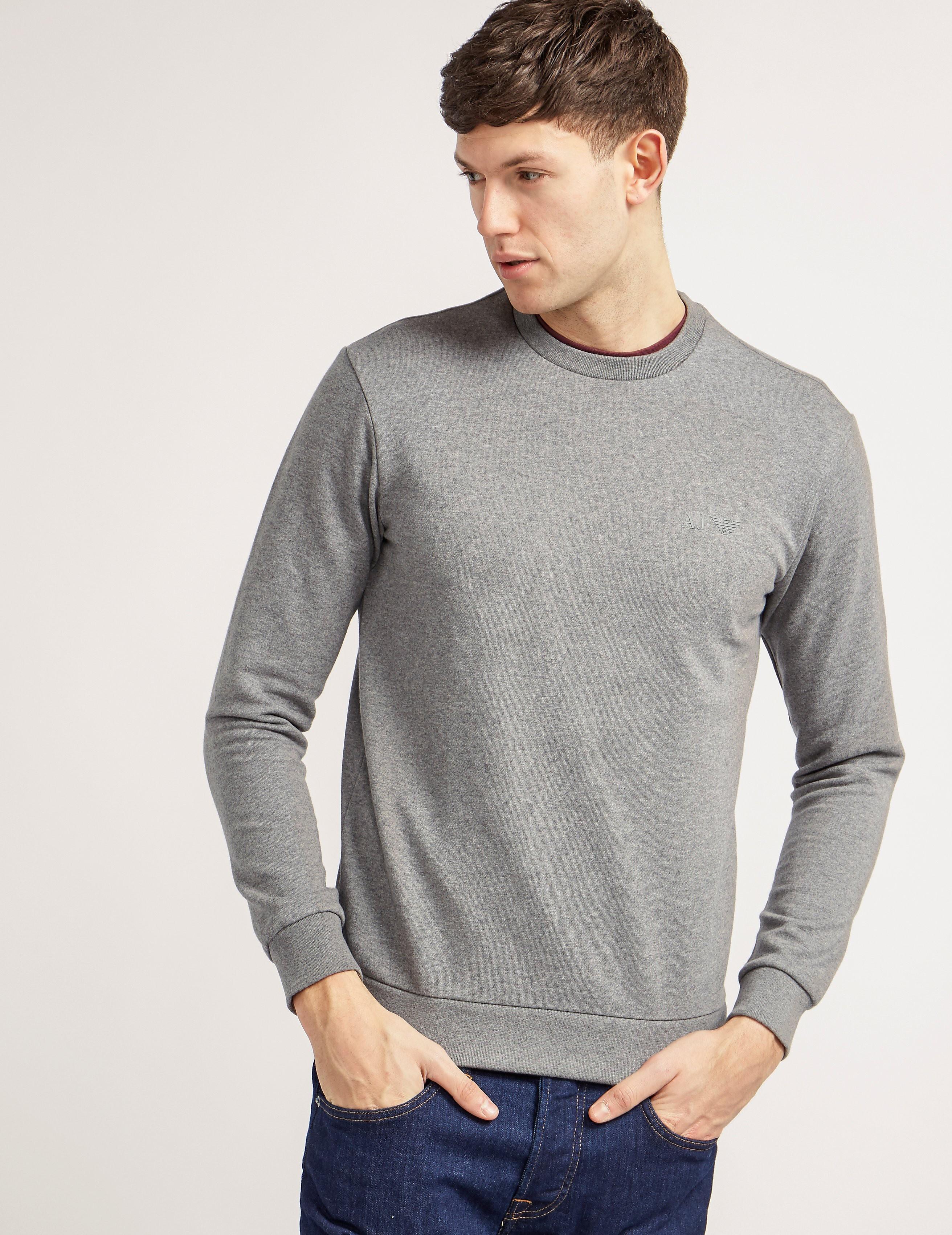 Armani Jeans Basic Crew Sweatshirt