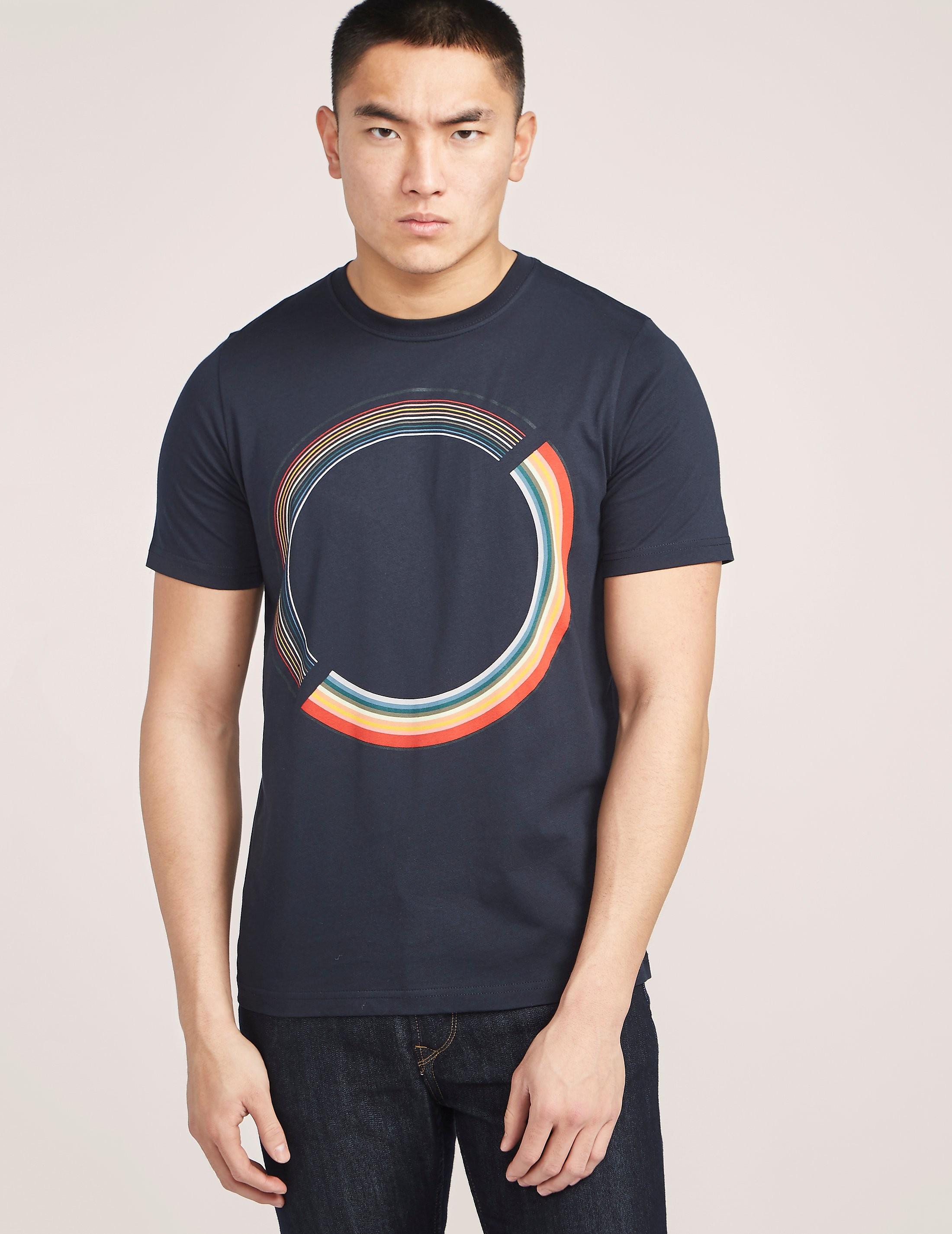 Paul Smith Short Sleeve Colour Wheel T-Shirt