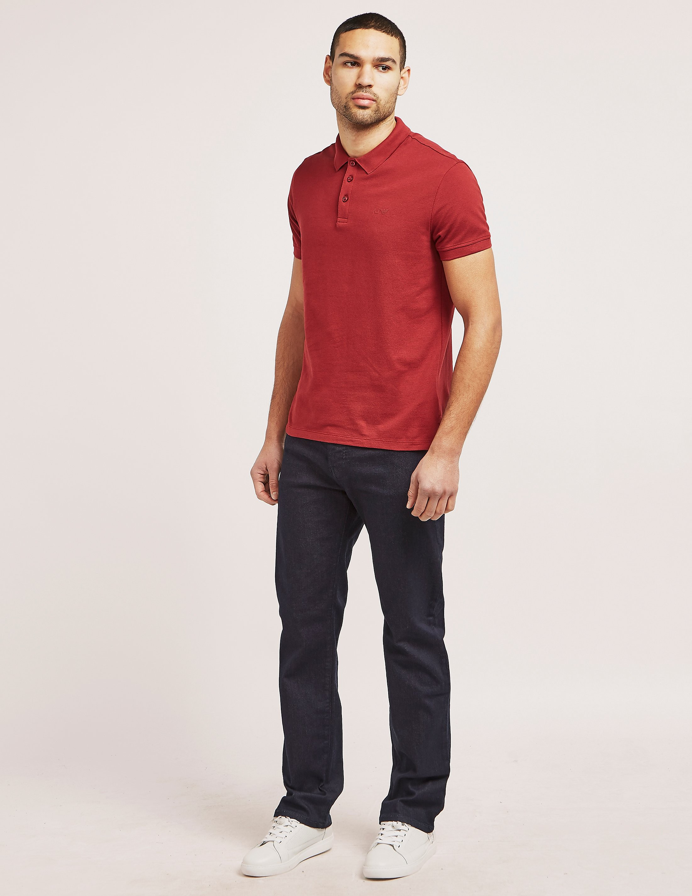 Armani Jeans Basic Short Sleee Polo Shirt