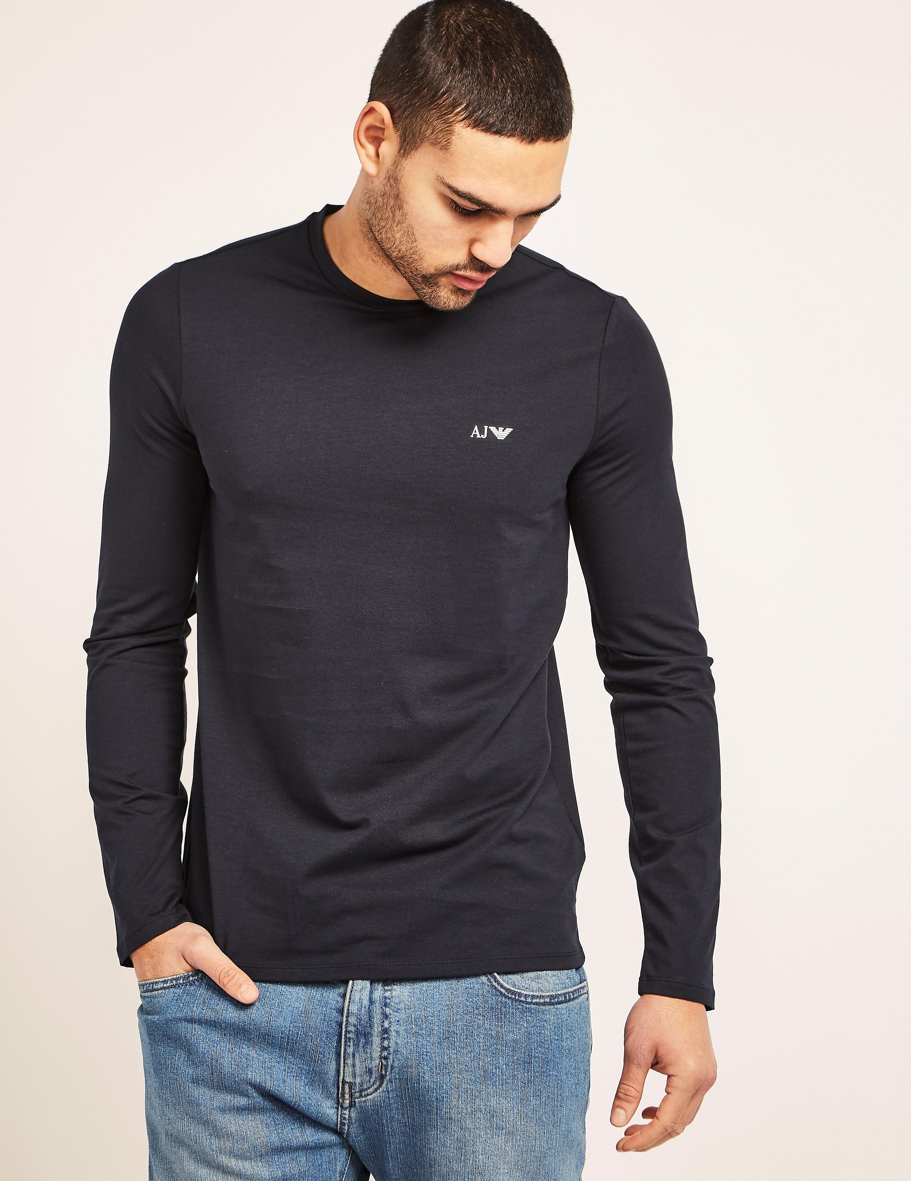 Armani Jeans Basic Long Sleeve T-Shirt