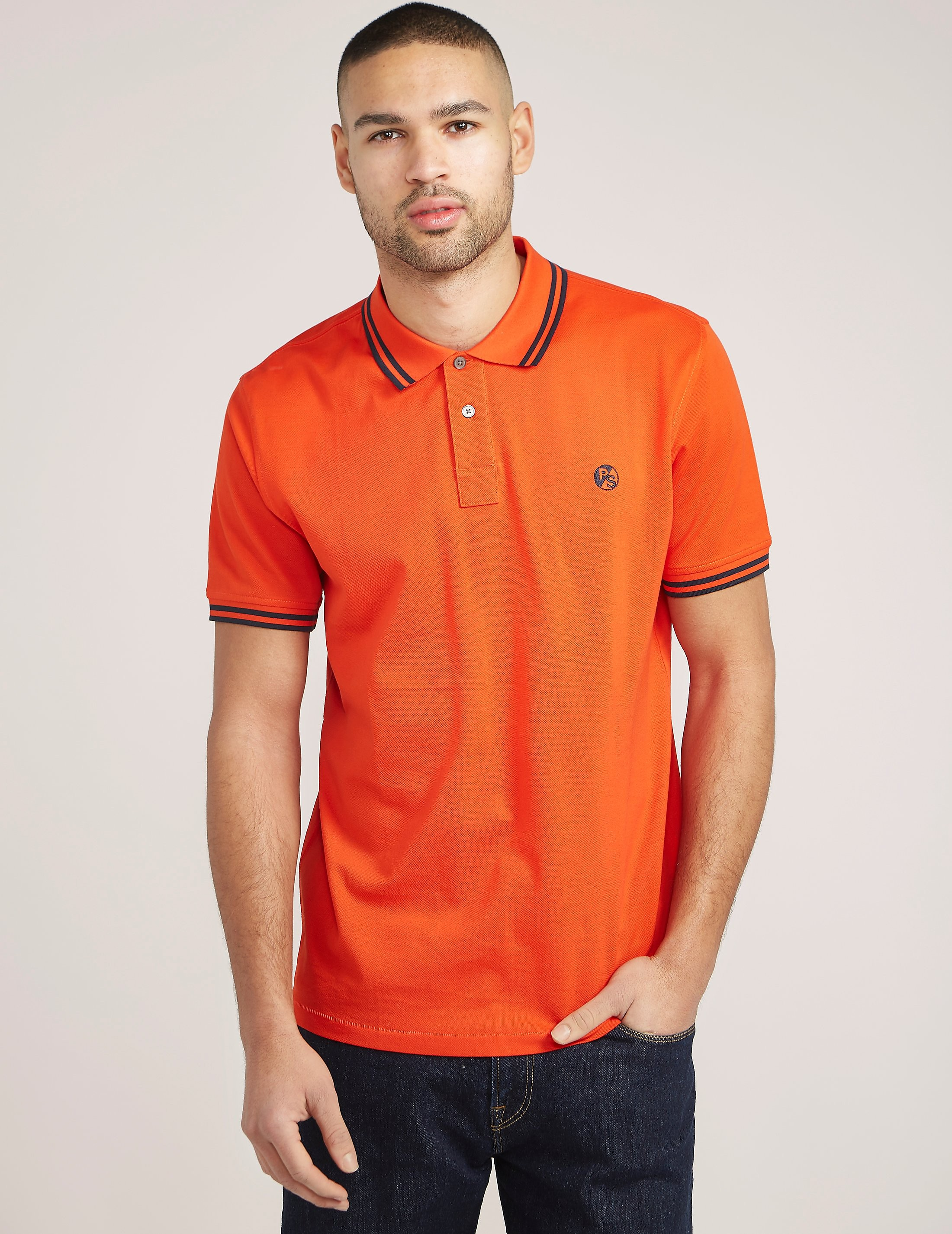 Paul Smith Double Tipped Polo Shirt