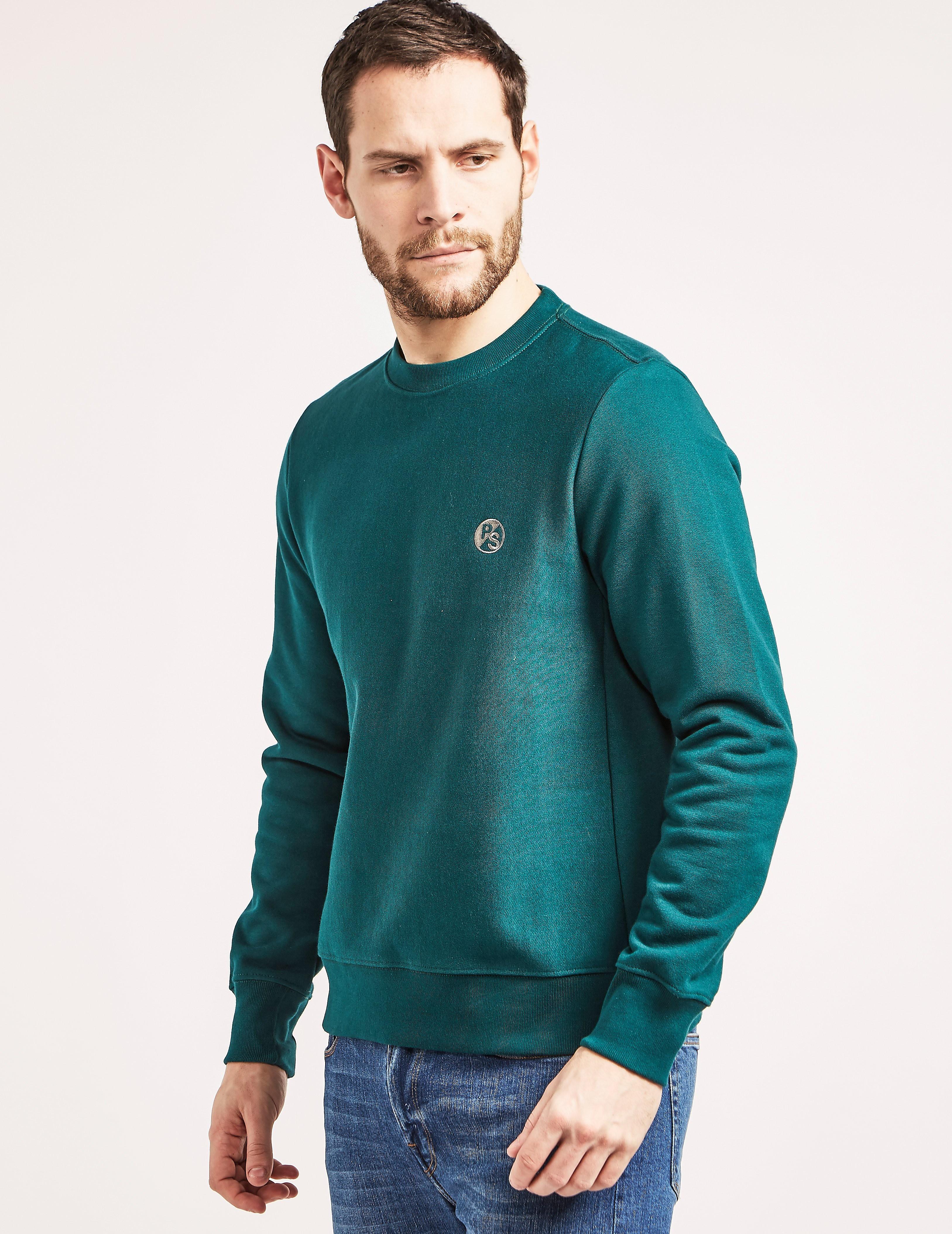 Paul Smith Embroidered Logo Sweatshirt