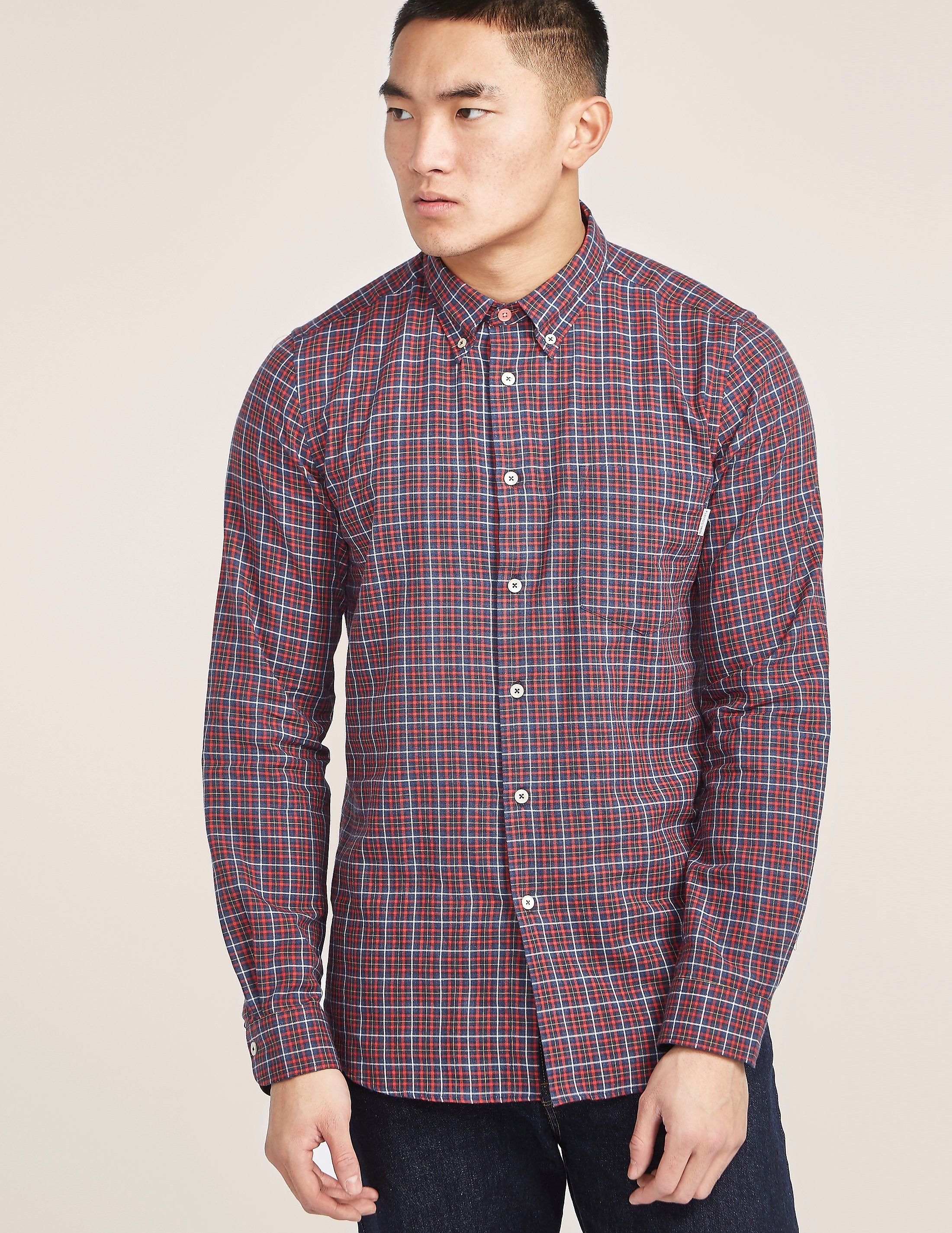PS Paul Smith Tailored Fit Check Shirt