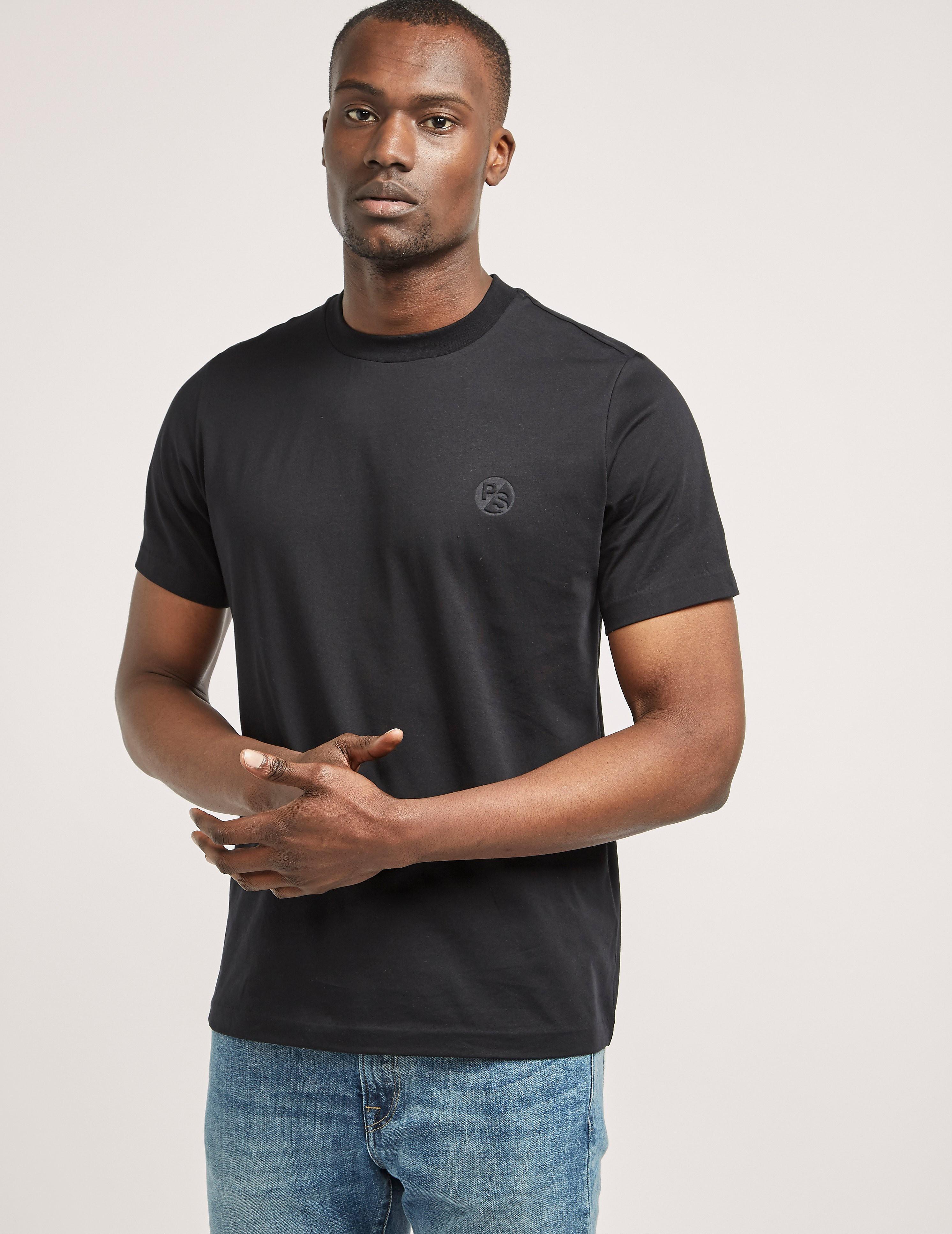 Paul Smith Embossed Logo Supima Short Sleeve T-Shirt