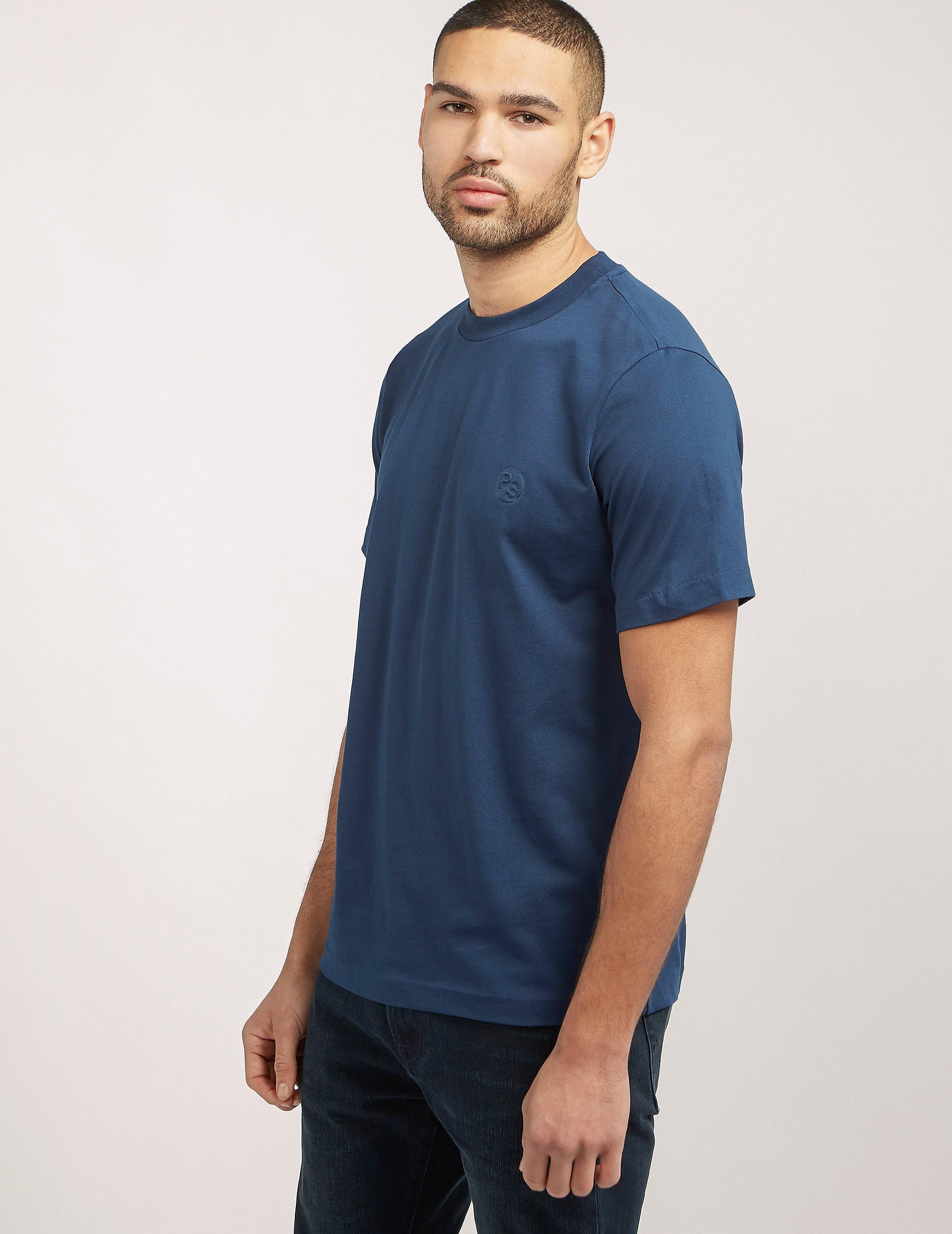 Paul Smith Embossed Logo Supima T-Shirt