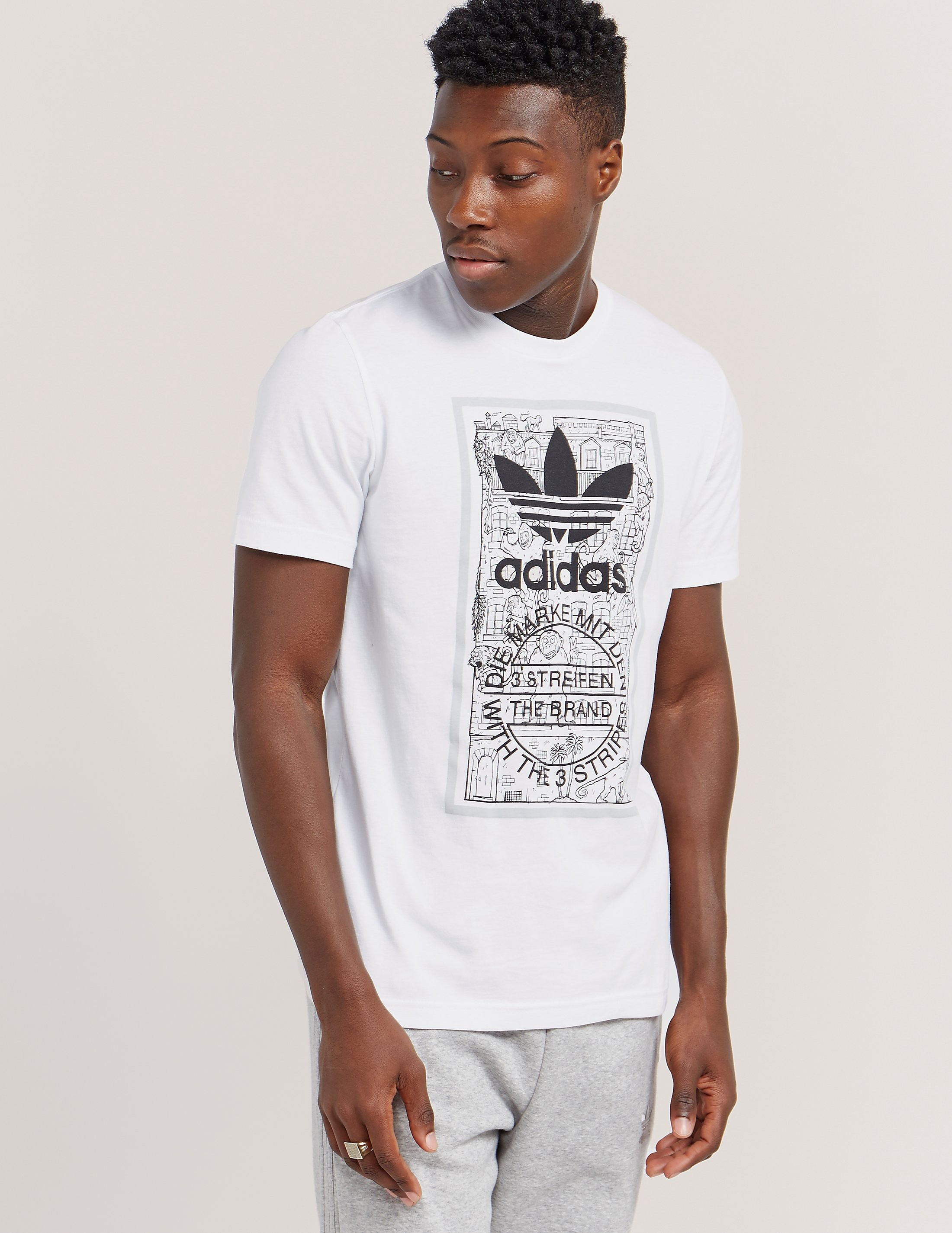 adidas Originals Graphic Short Sleeve T-Shirt