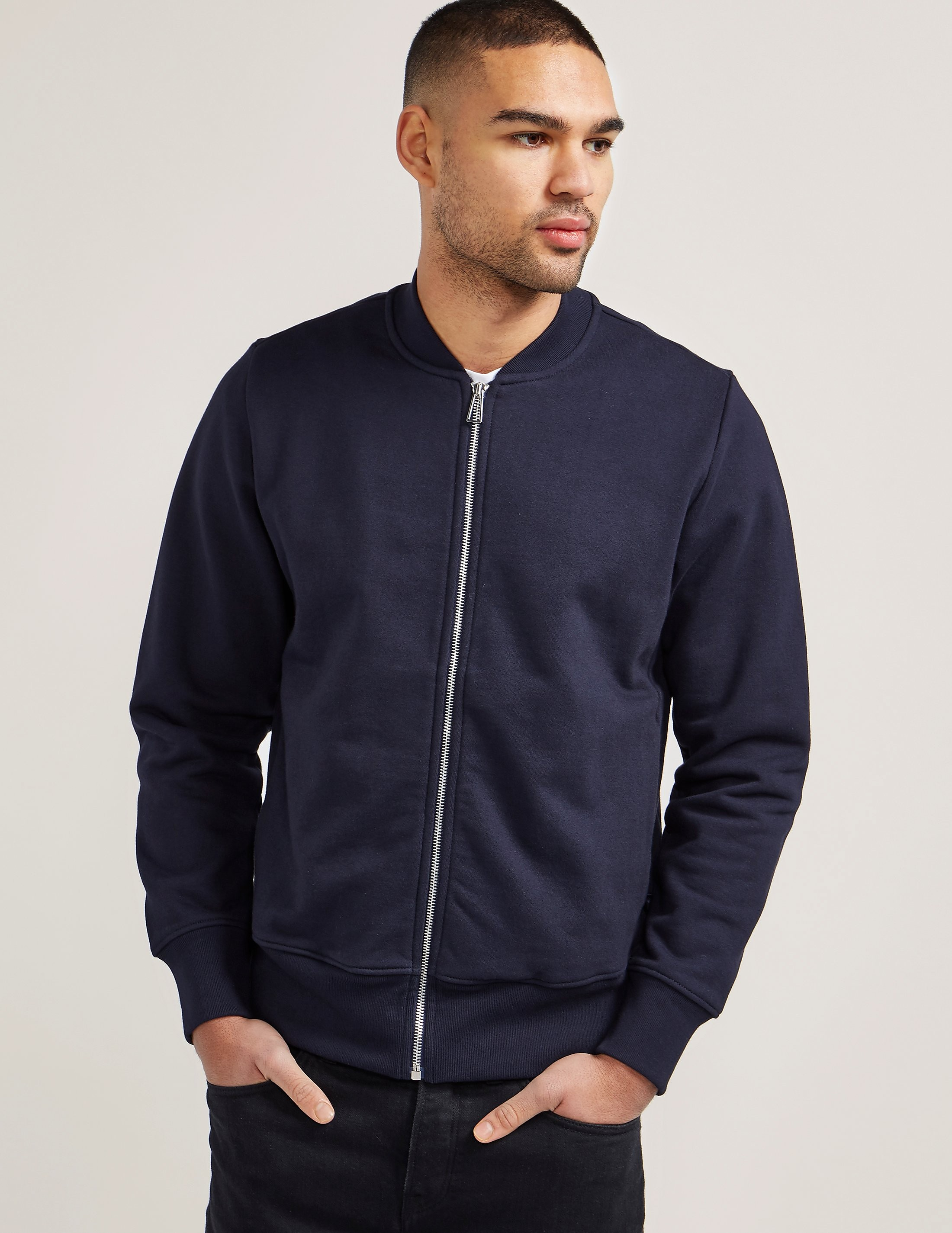 Paul Smith Full Zip Bomber Sweatshirt