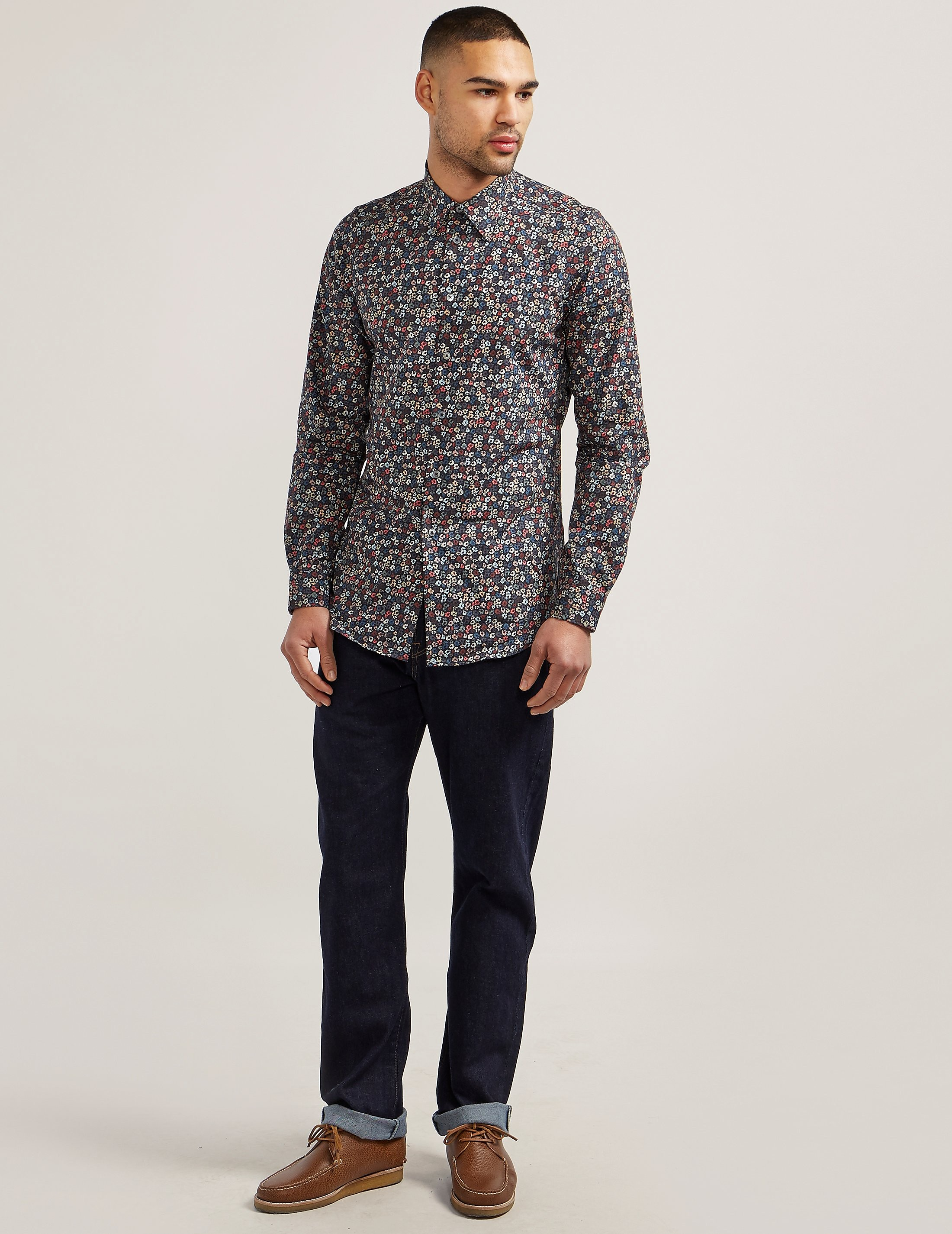 Paul Smith Floral Long Sleeve Shirt