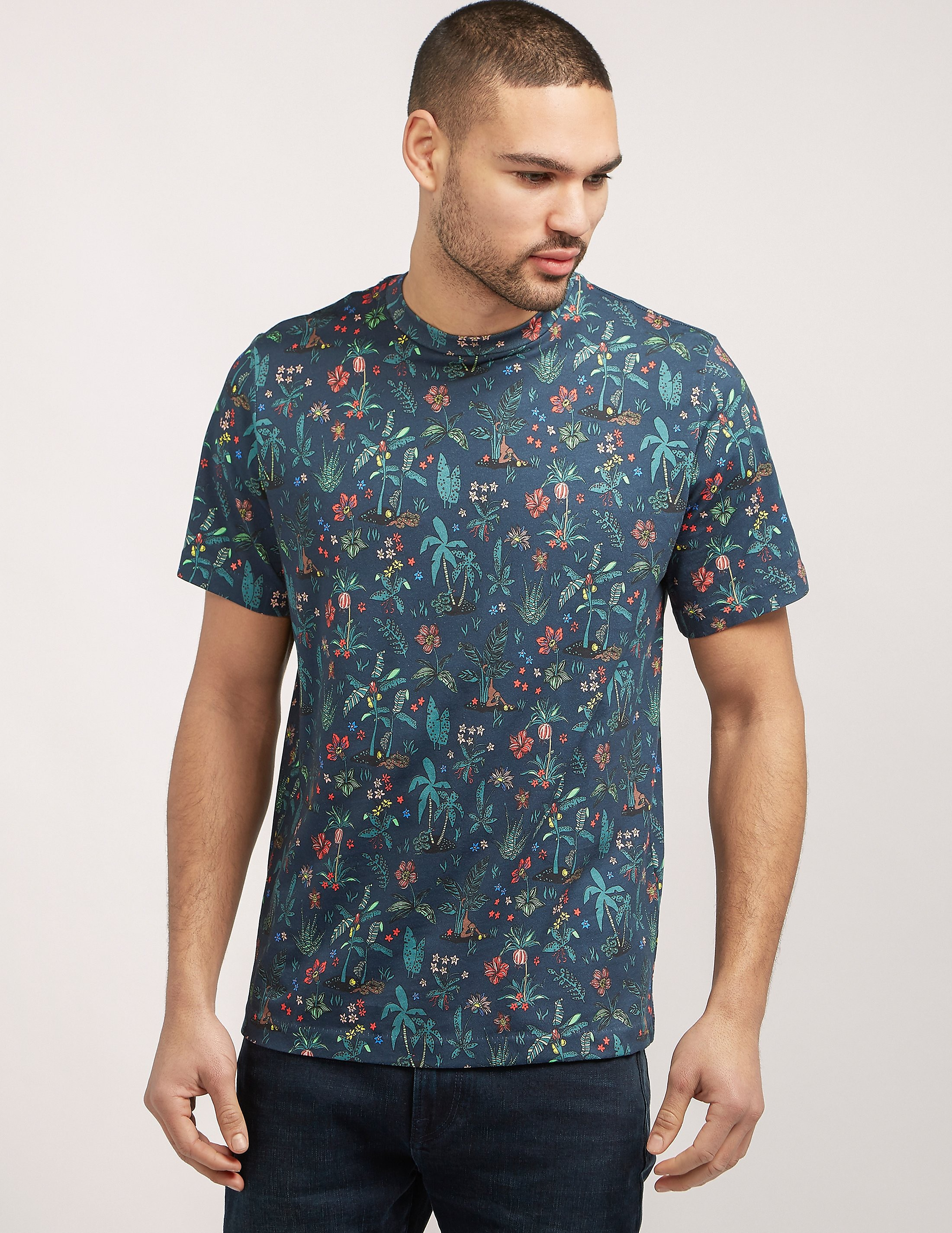 Paul Smith Botanical All Over Print T-Shirt
