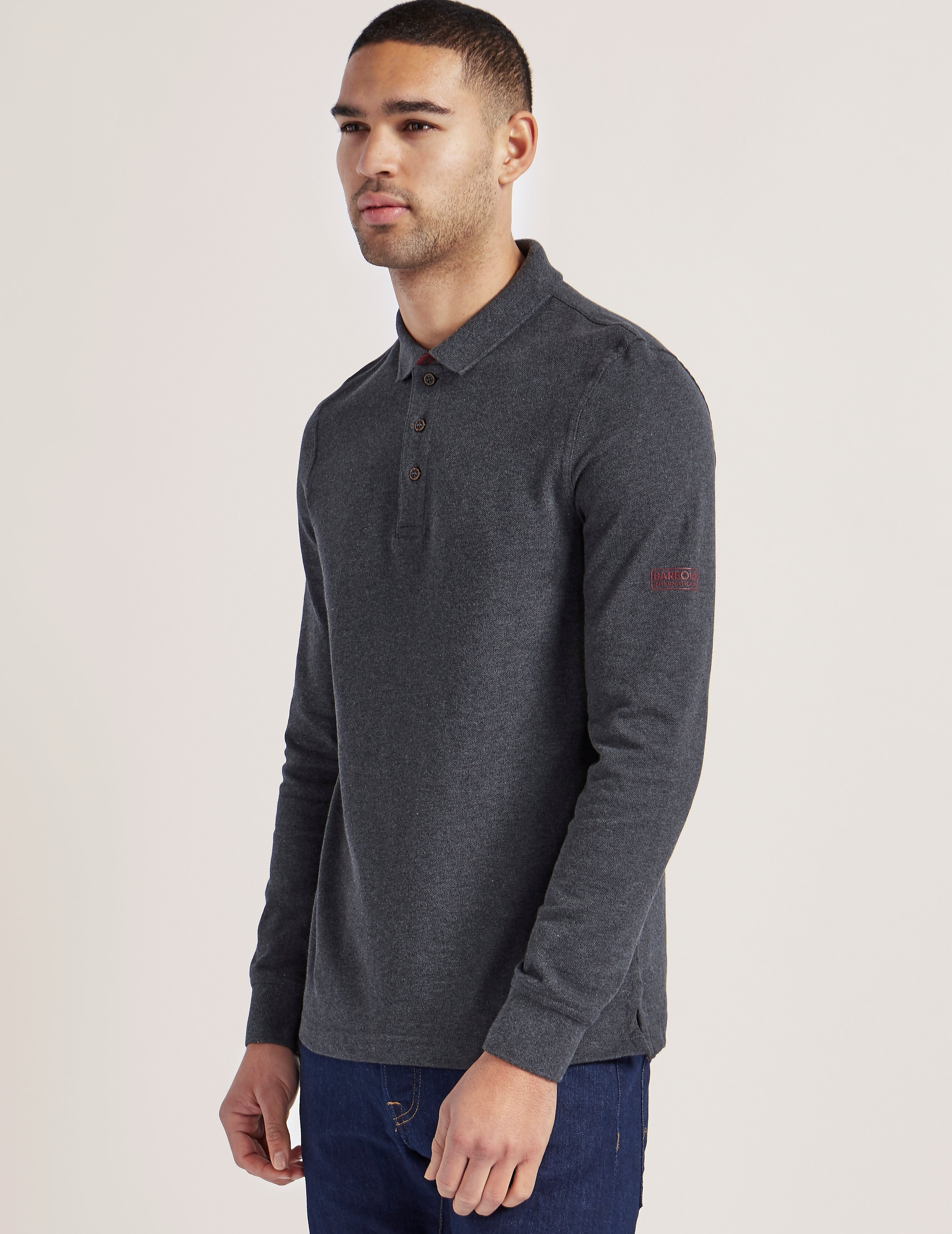 Barbour Root Long Sleeve Polo Shirt