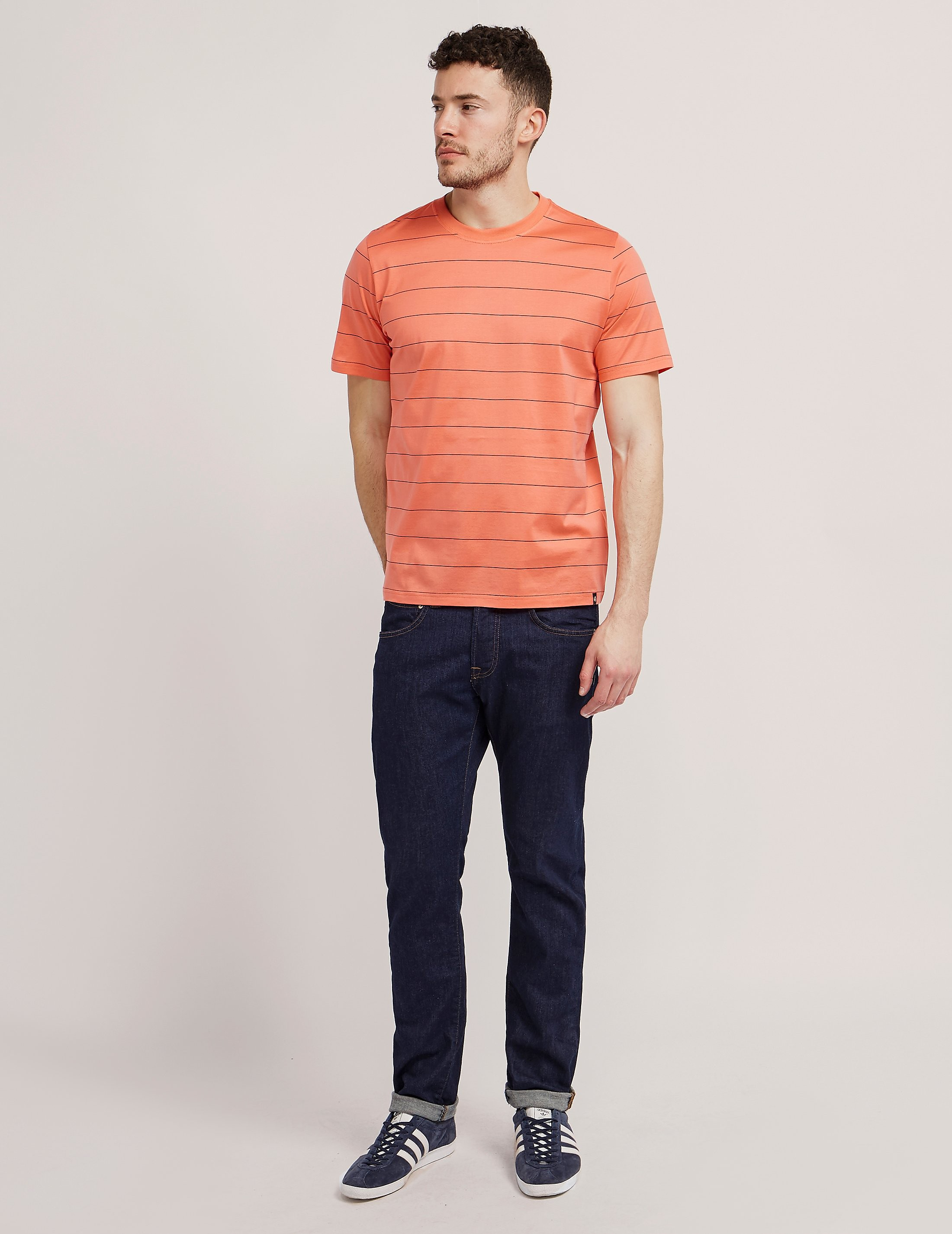 Paul Smith Pin Stripe Crew T-Shirt