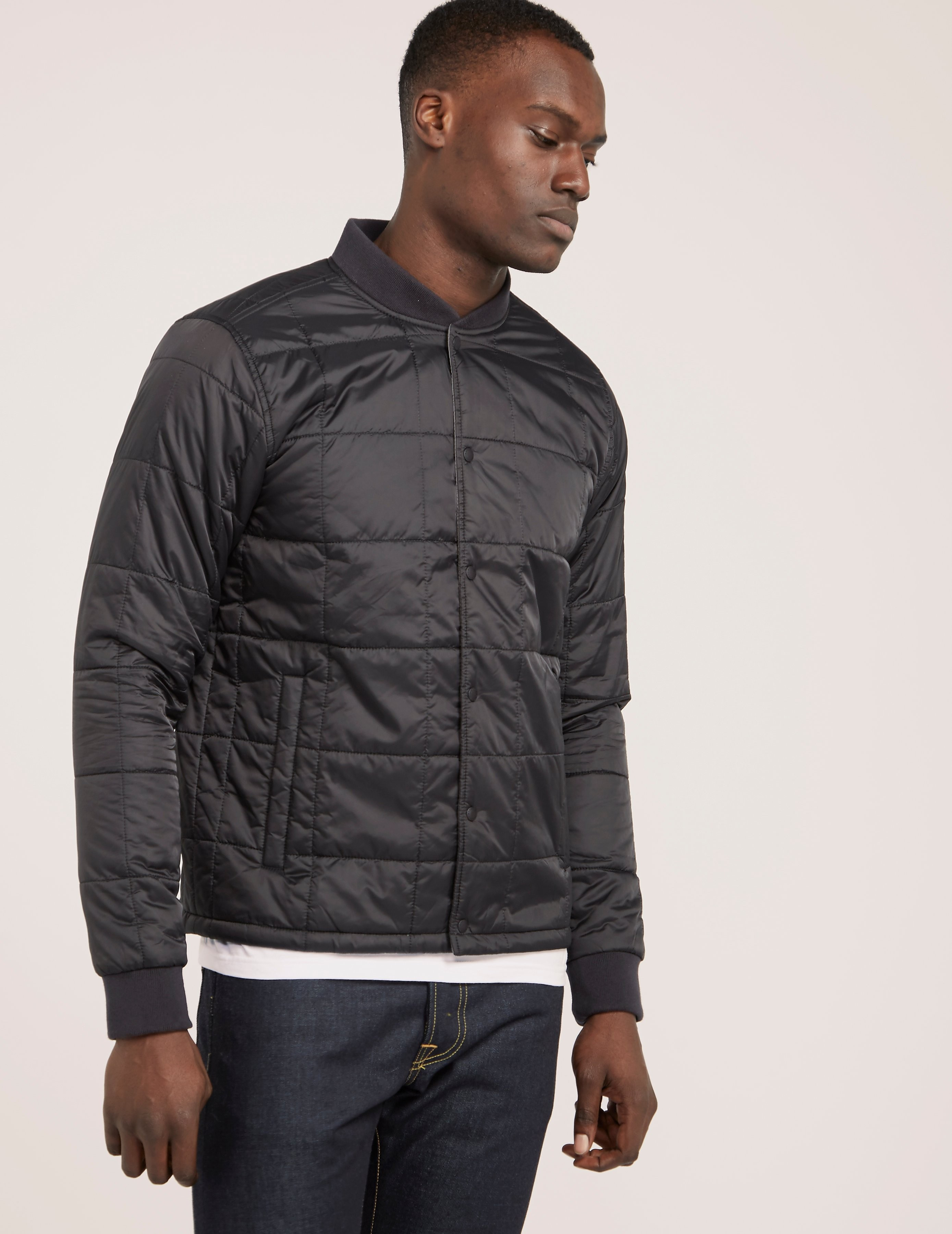 Barbour Worn Quilted Bomber Jacket