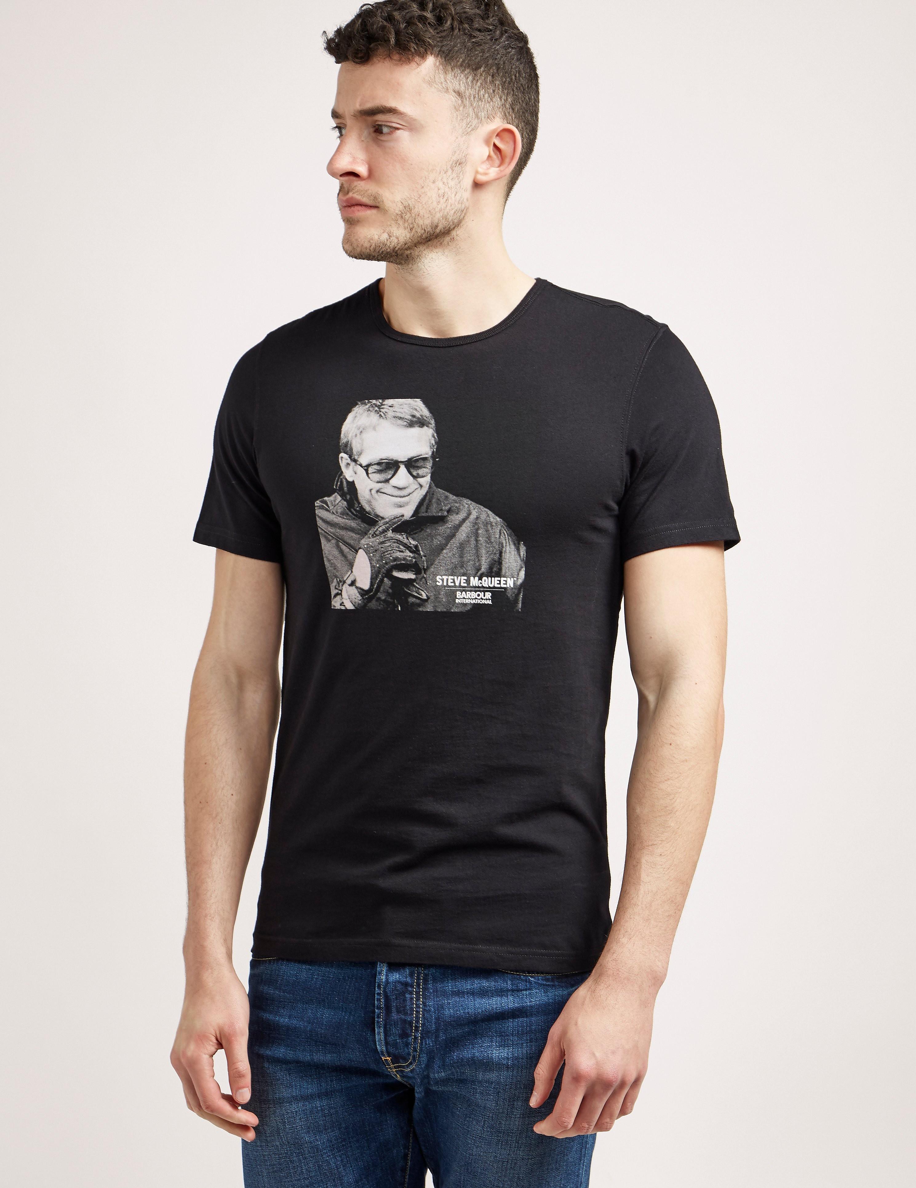 Barbour International Steve McQueen Smile T-Shirt