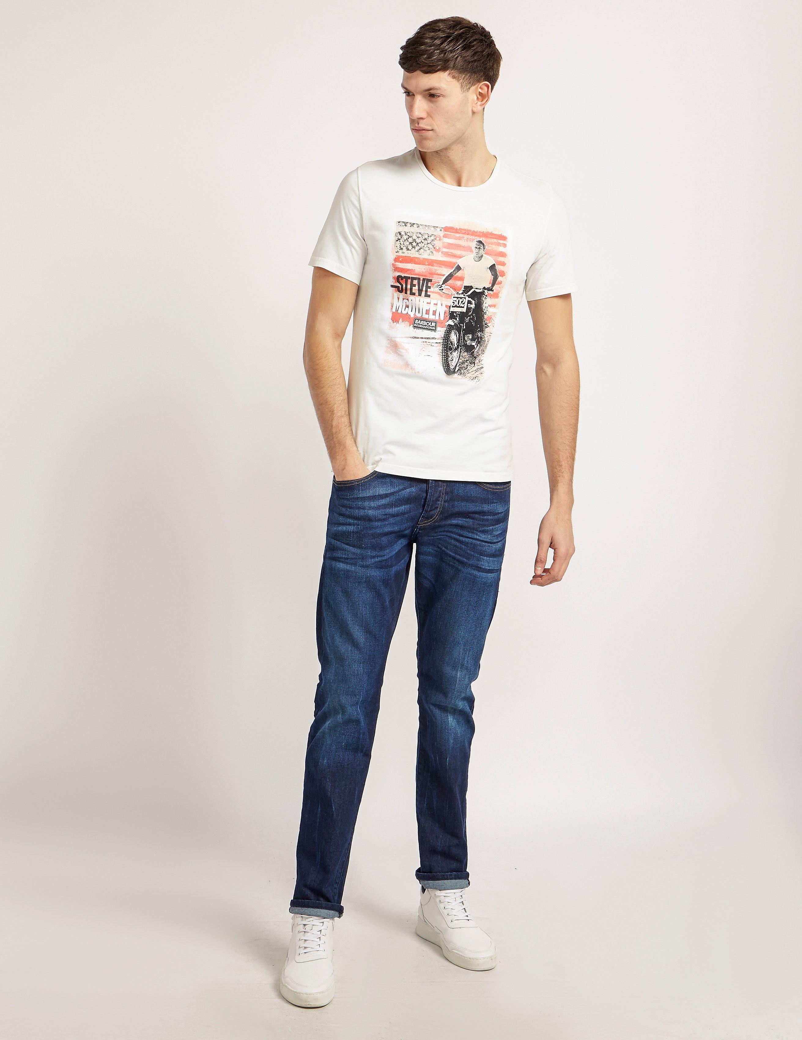 Barbour International Steve McQueen T-Shirt