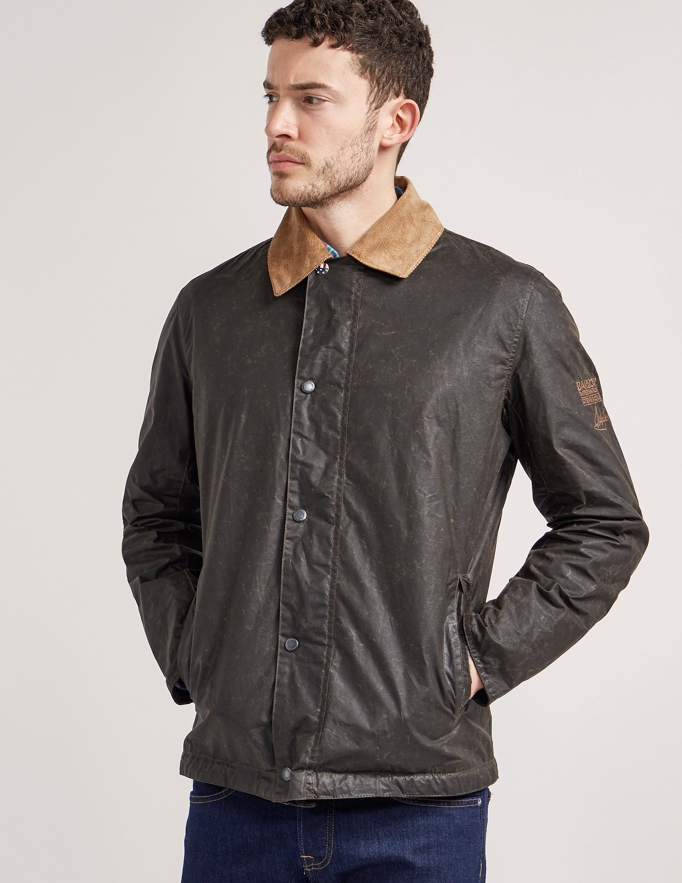 Barbour International Steve McQueen Tread Wax Jacket
