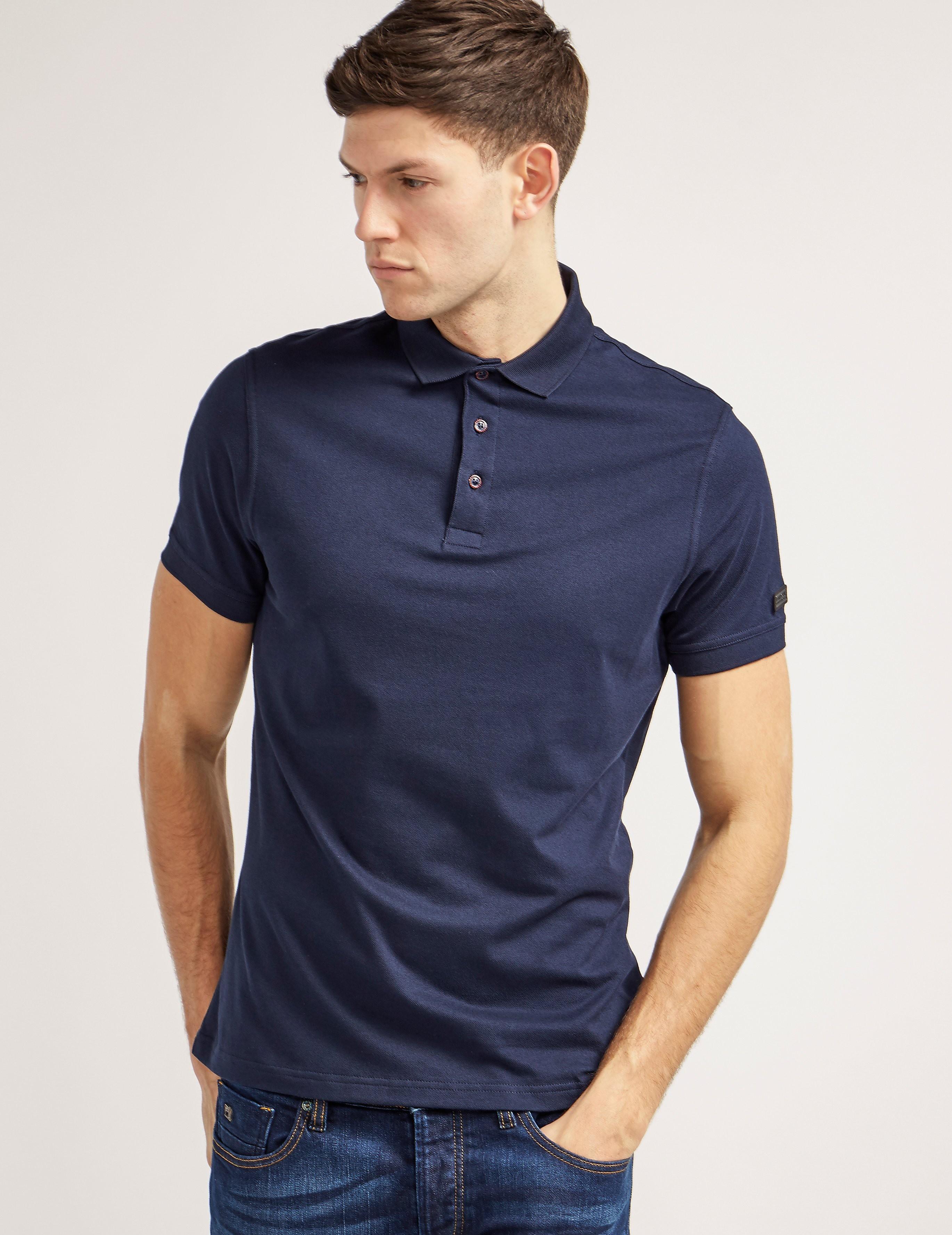 Barbour International Lydden Short Sleeve Polo Shirt