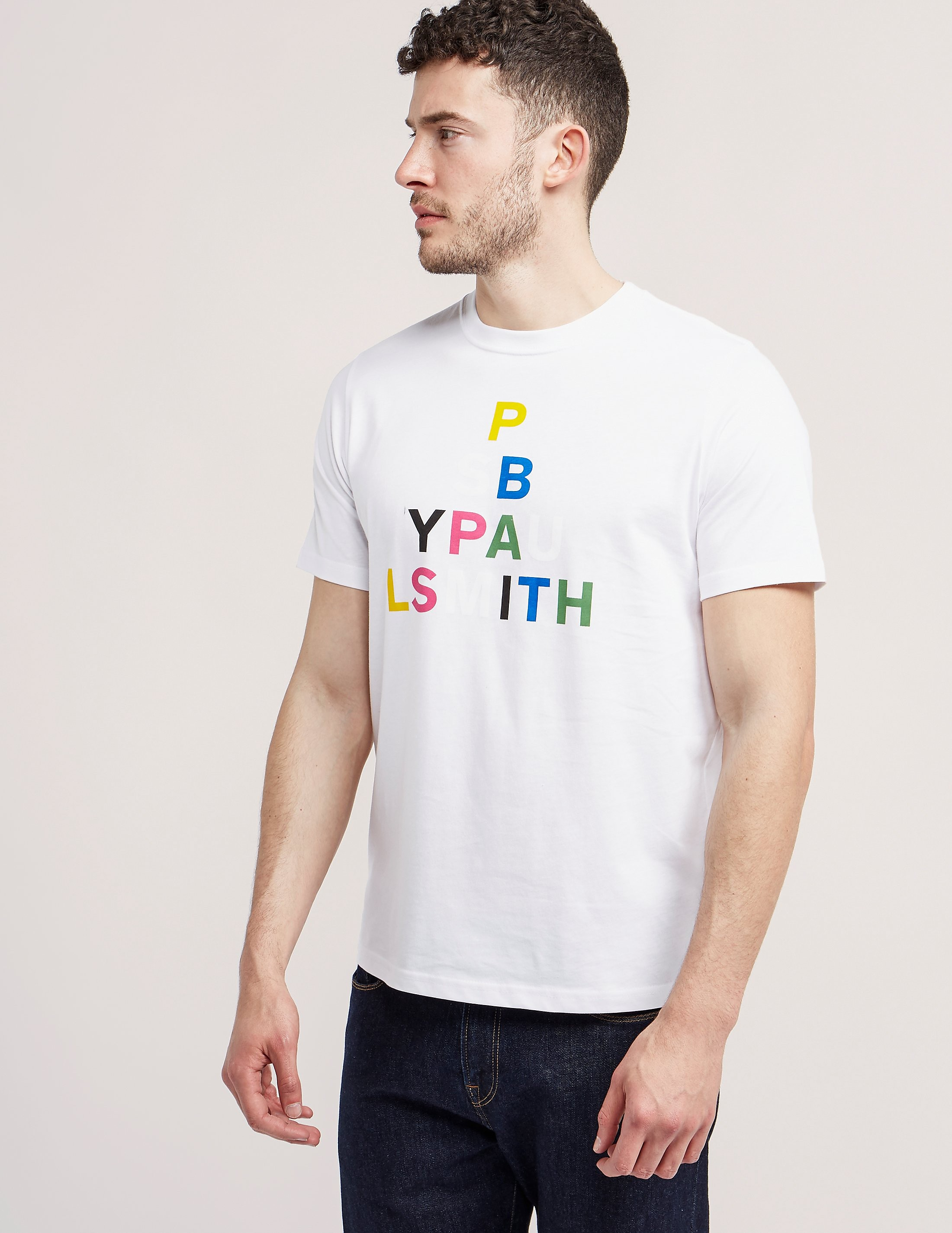 Paul Smith Triangle Print Short Sleeve T-Shirt