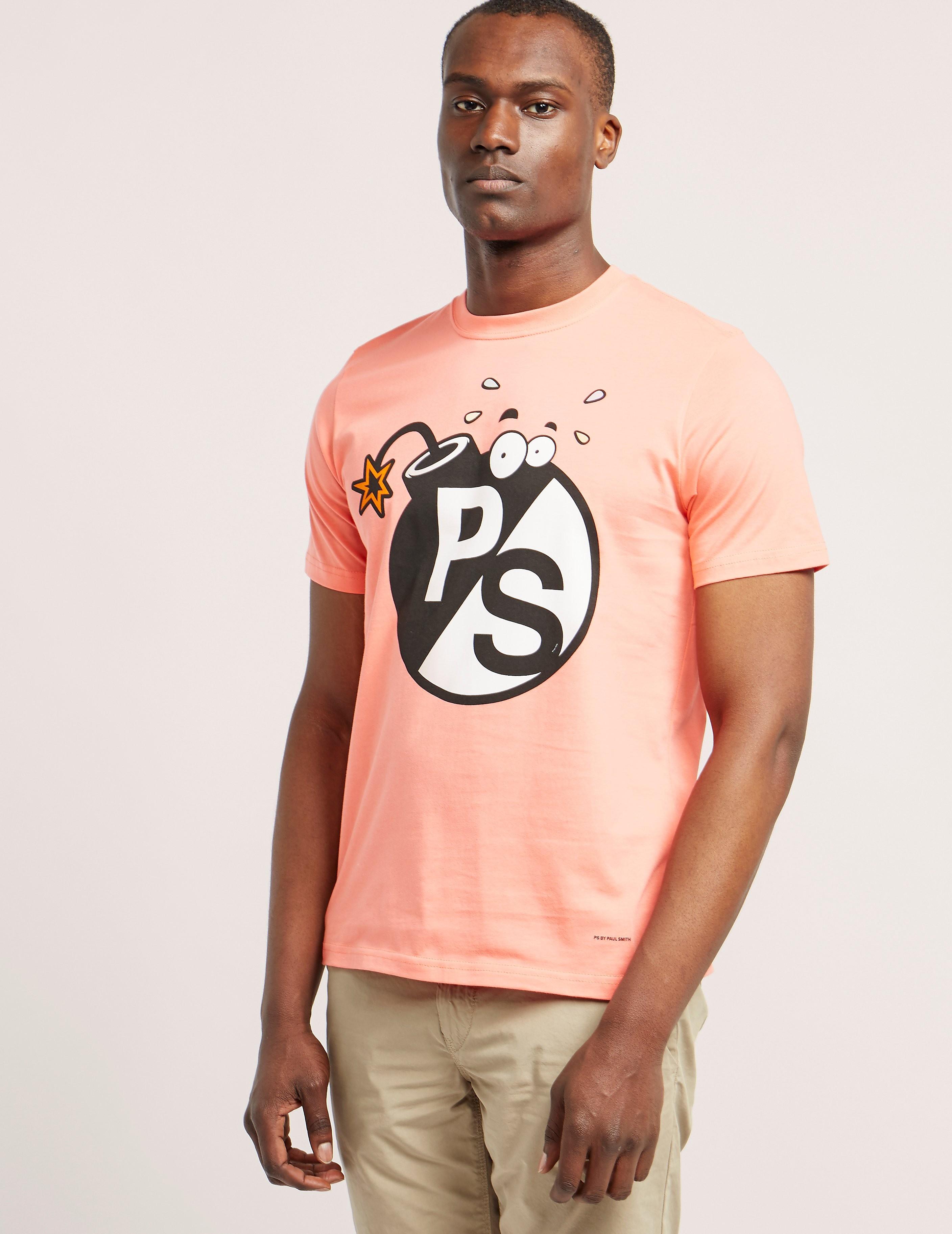 Paul Smith Bomb Print T-Shirt
